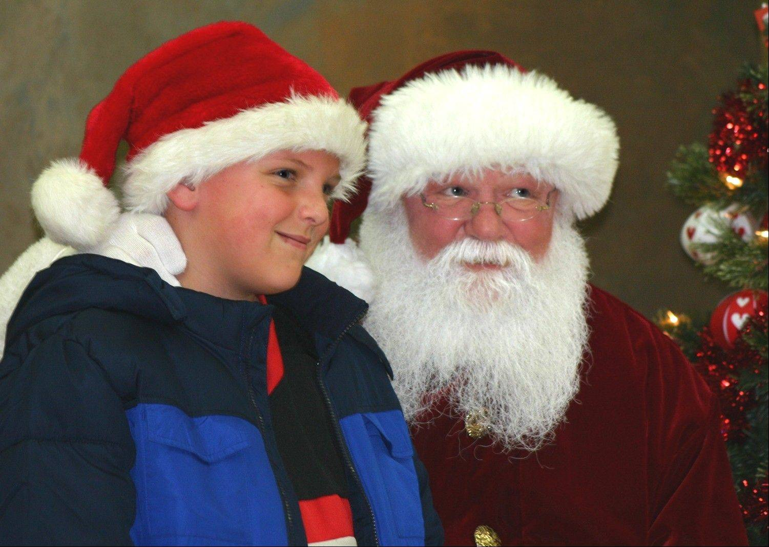 After viewing the lights, kids can head into the field house for a visit with Santa at Mooseheart. Dates for Santa's visits are Dec. 7-9, 15-16 and 21-23.