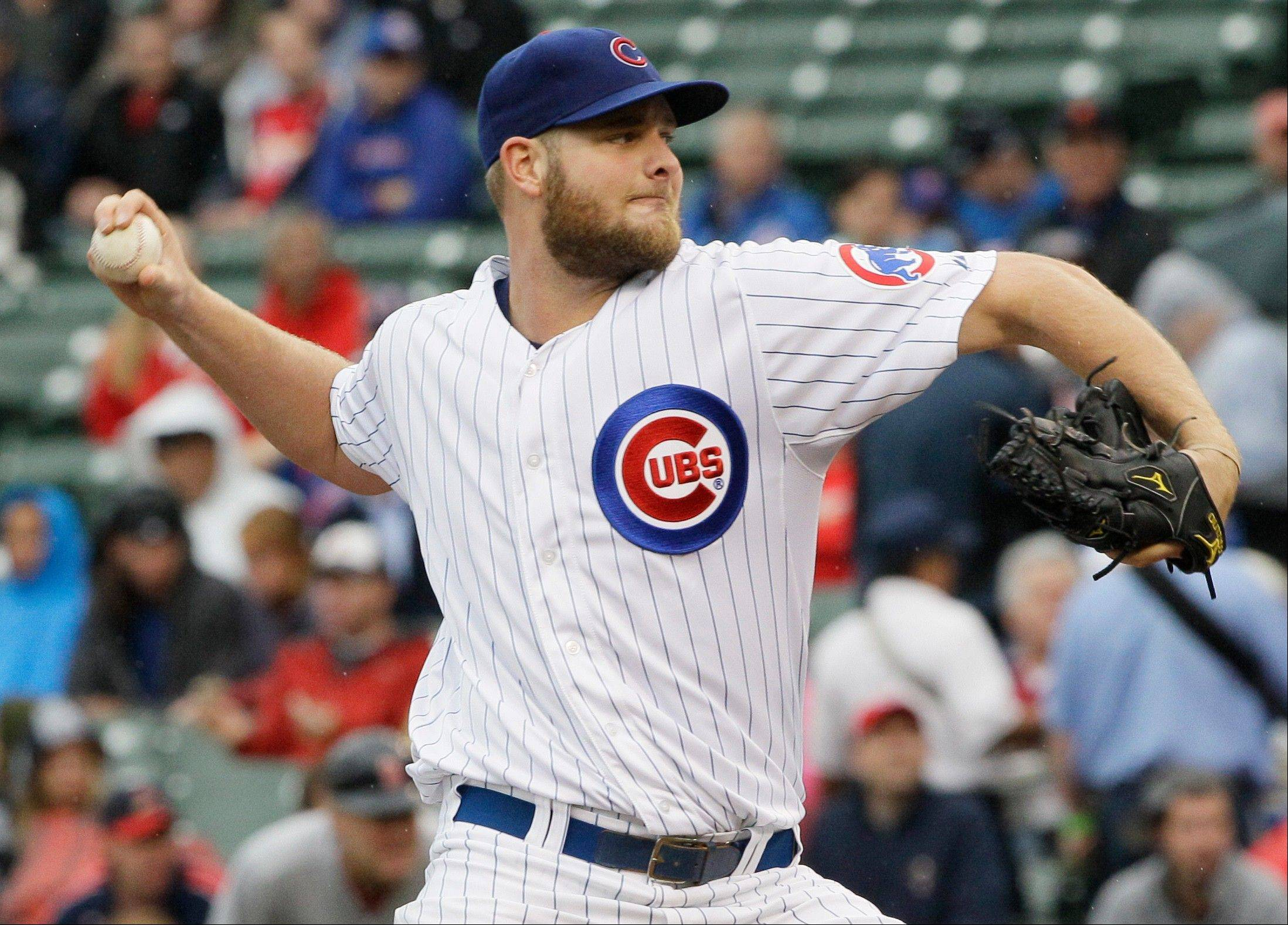 Something to be thankful for: former Cubs starter Chris Volstad was claimed off waivers by the Kansas City Royals.