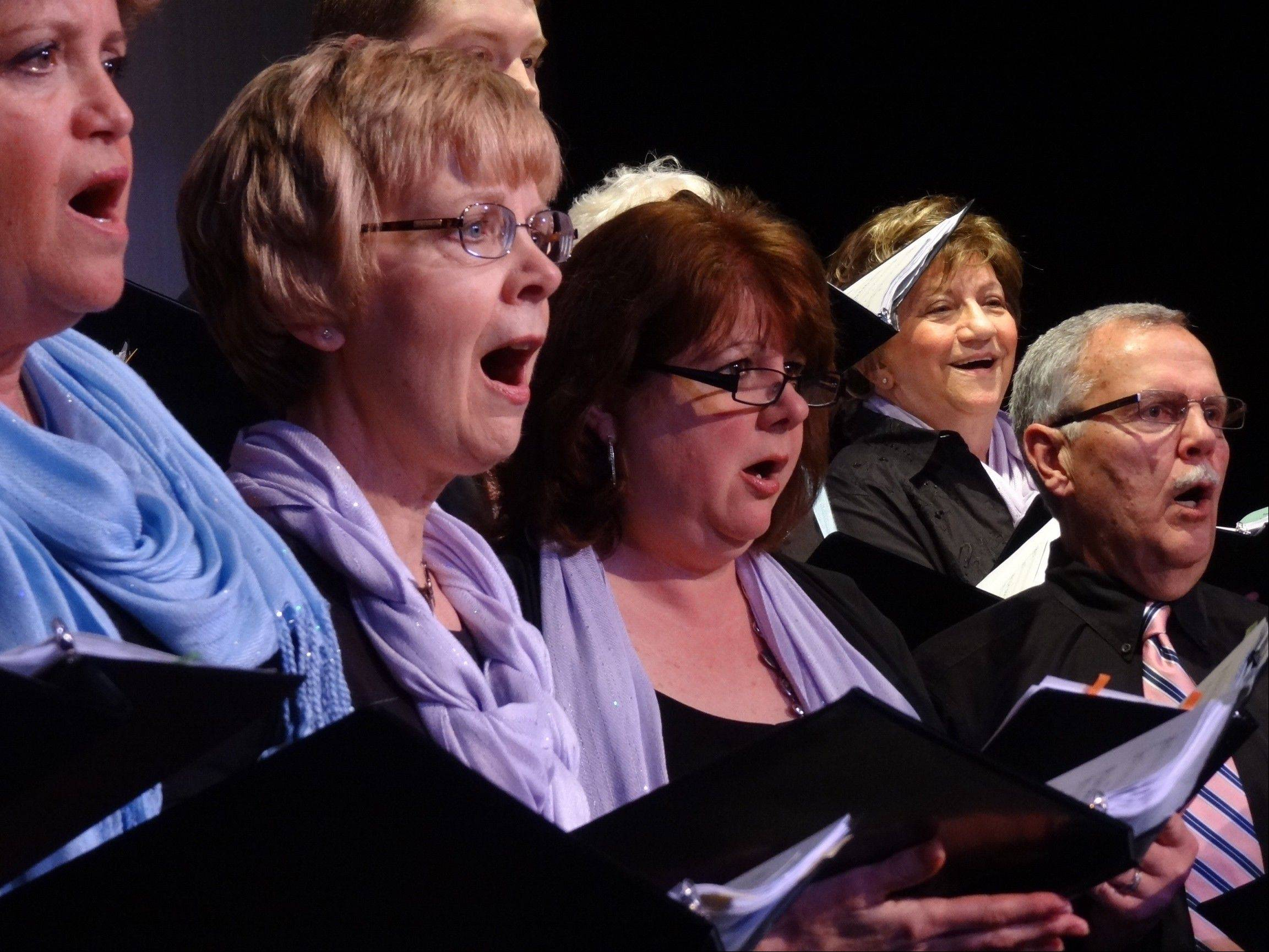 Palatine Park District's Allegro Adult Choir presents its annual holiday concert 6:30 p.m. Sunday, Dec. 2, at Cutting Hall Performing Arts Center.