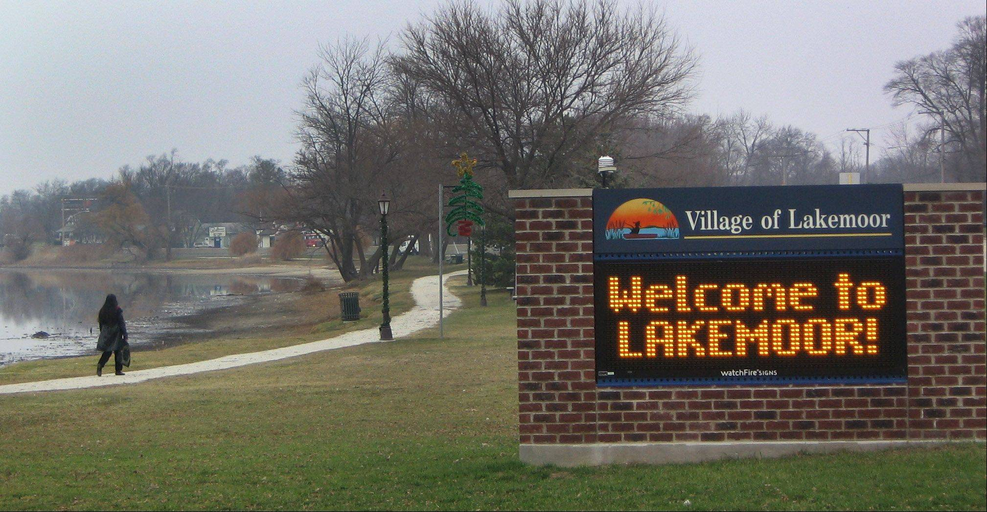 A revised comprehensive plan in Lakemoor suggests a walkable Town Center be developed along Route 120 near the old village hall and Lily Lake.