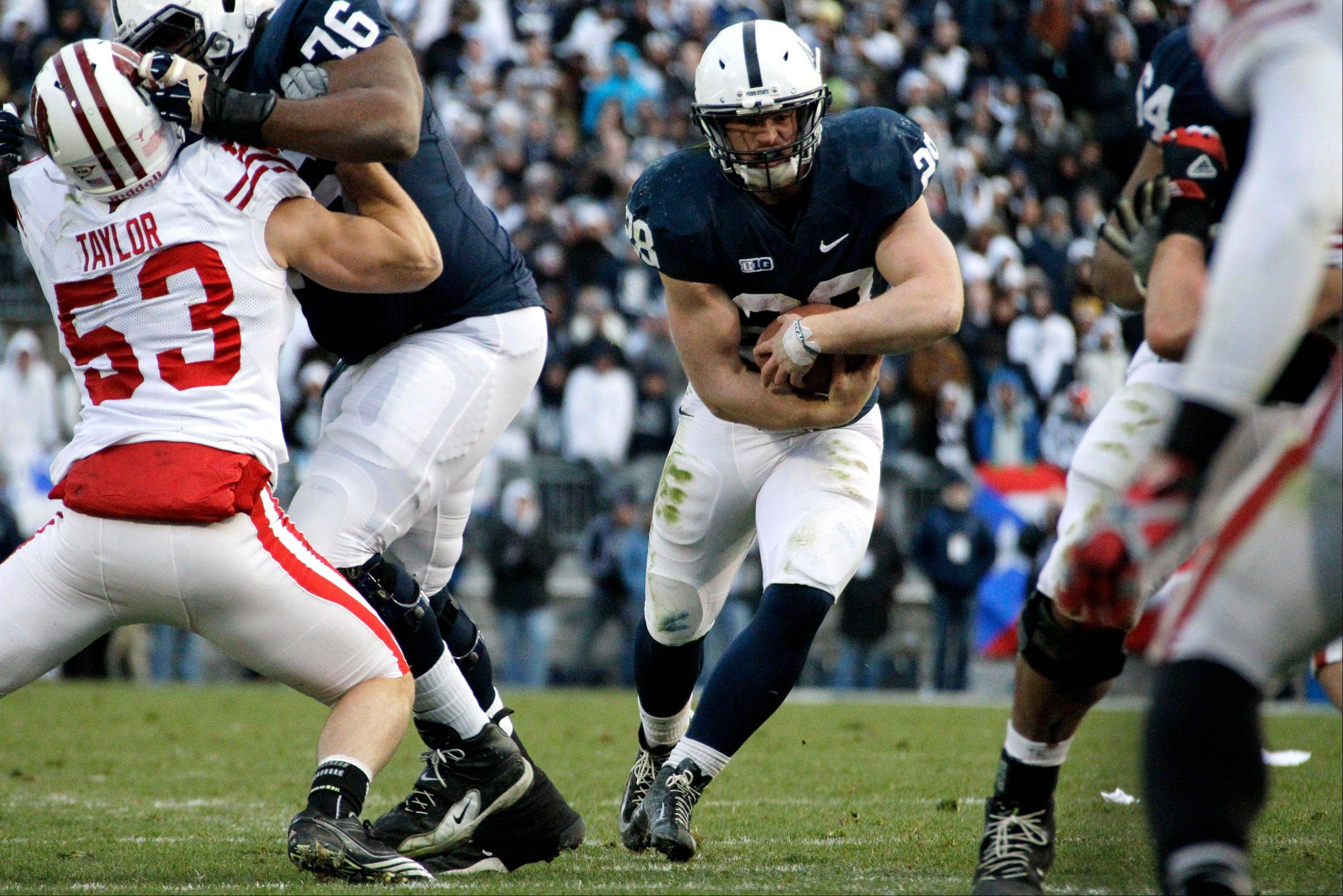 Penn State beats Wisconsin 24-21 in OT