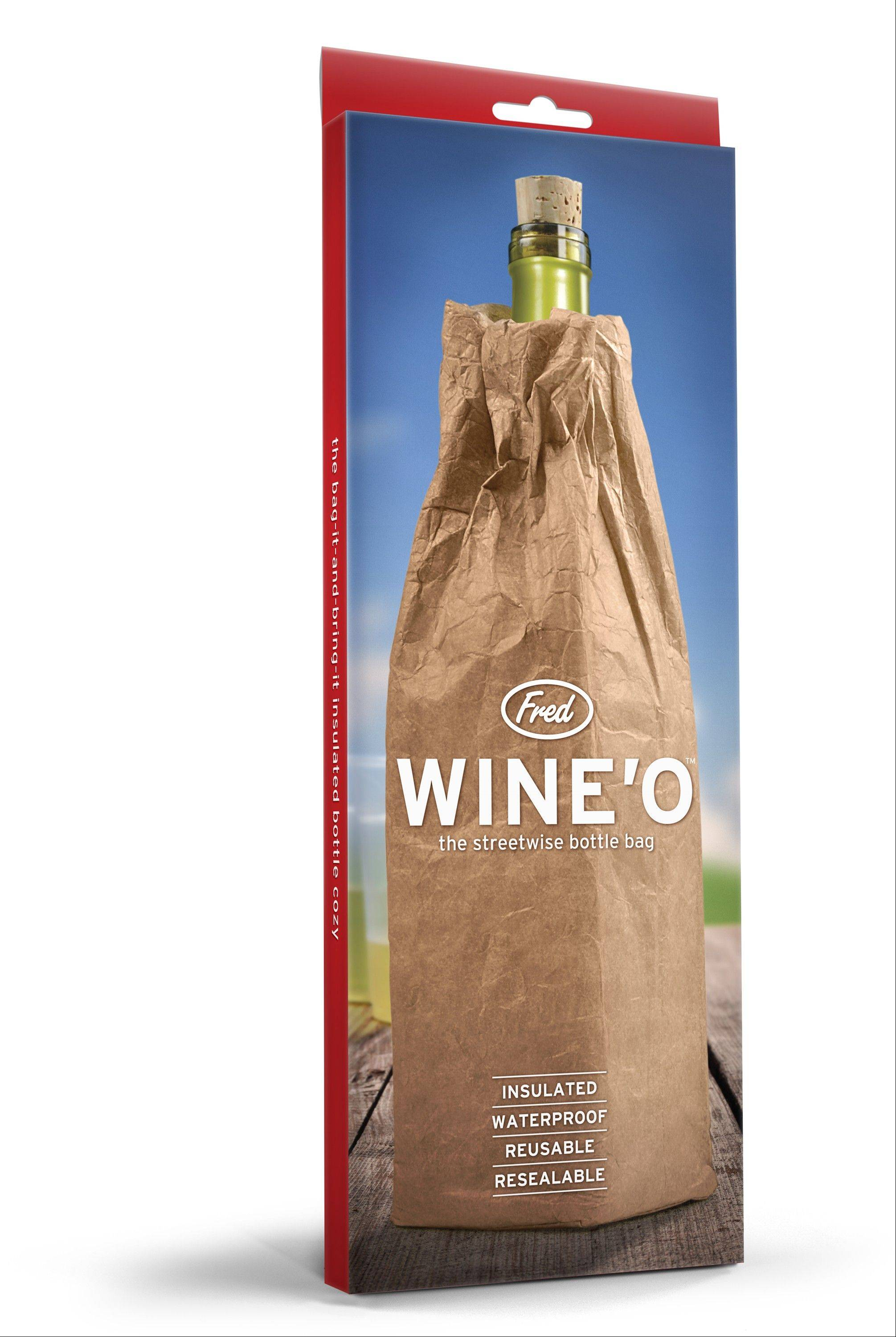 The Wine-O bag, an insulated bag bottle bag, is a perfect gift for the Jewish hipster.