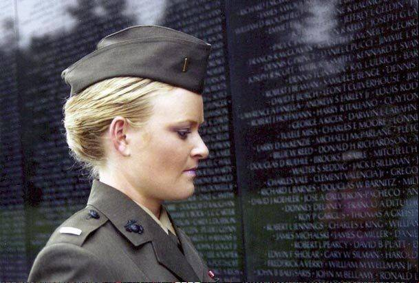 "The story of Marine Lt. Elle Helmer is featured in the documentary, ""The Invisible War"" to be shown Tuesday, Nov. 27, in Elgin. After reporting that she was raped by a superior officer, Helmer instead was investigated, prosecuted and eventually forced to leave the Marine Corps."