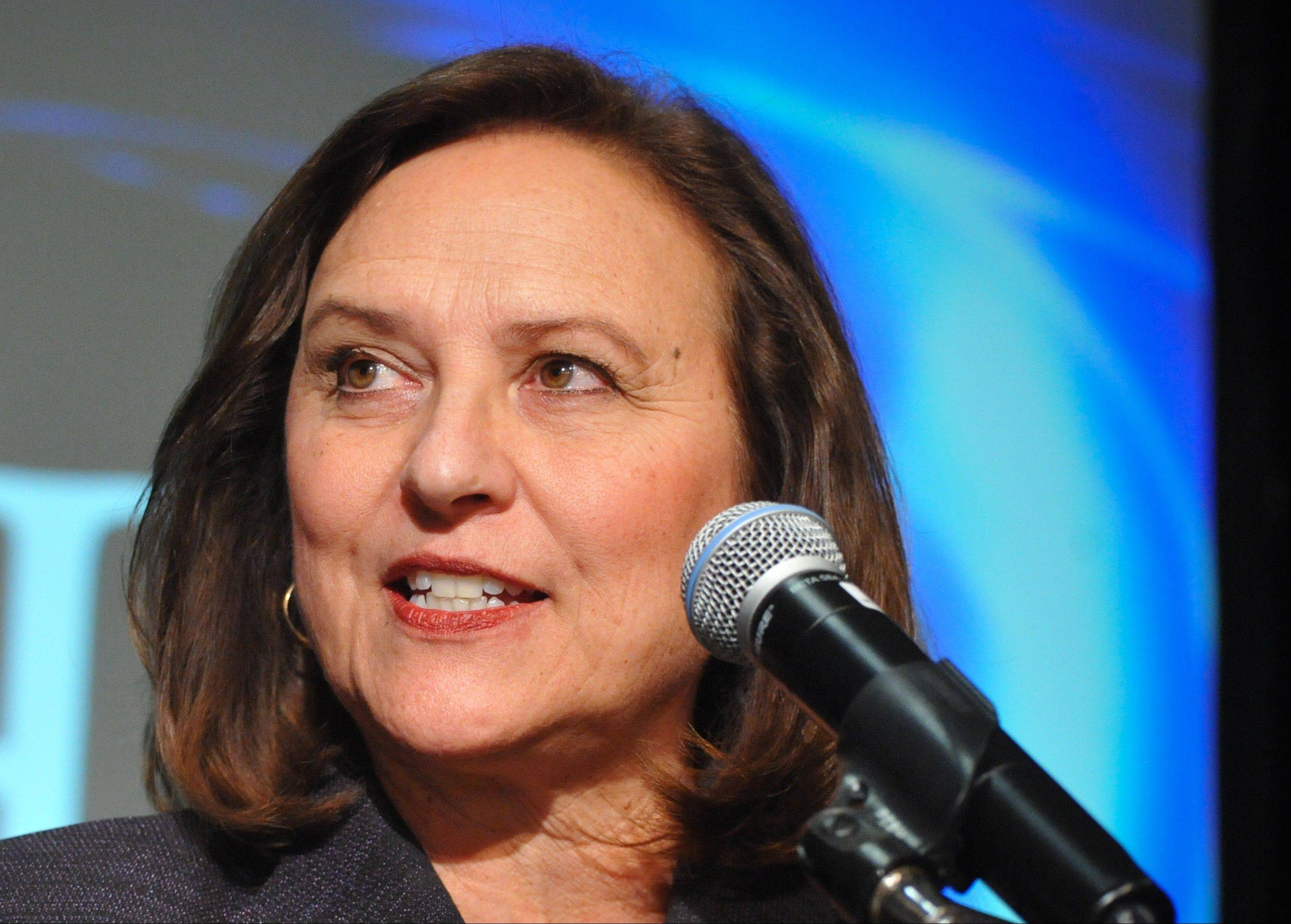 Sen.-elect Deb Fischer is a conservative Republican from Nebraska who'll take her seat in January.
