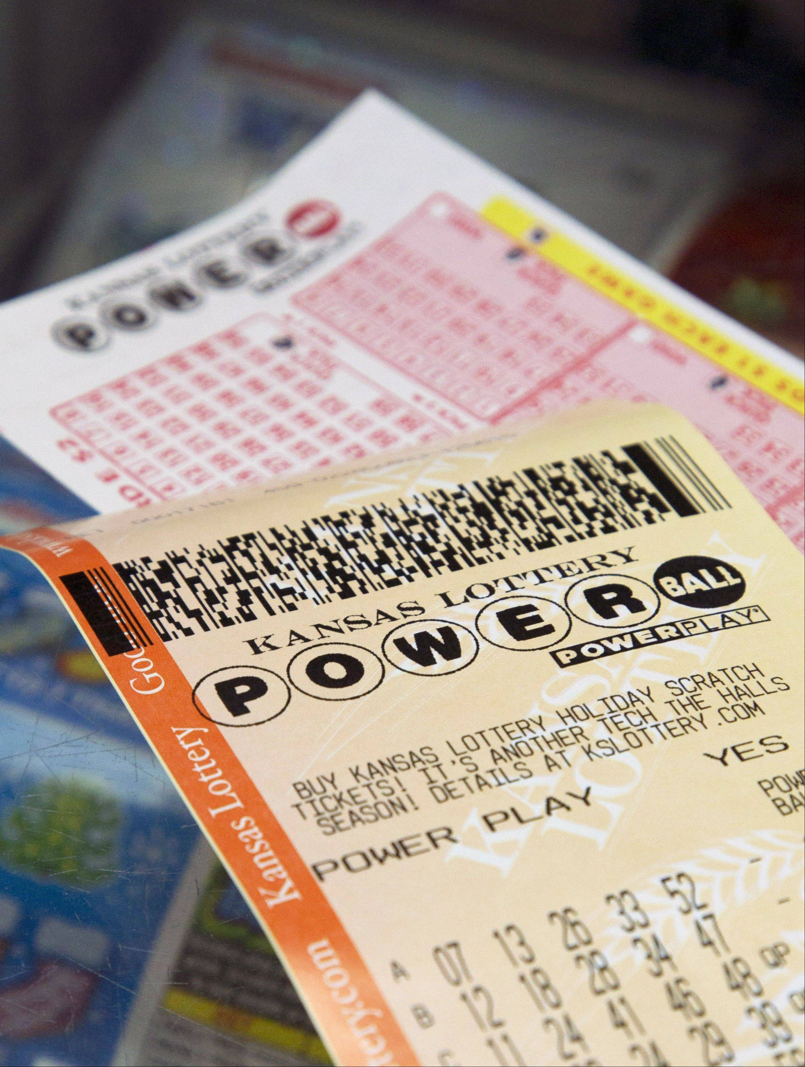 The jackpot for Powerball's Wednesday drawing has climbed to $425 million. No one picked all of the winning numbers on Saturday.