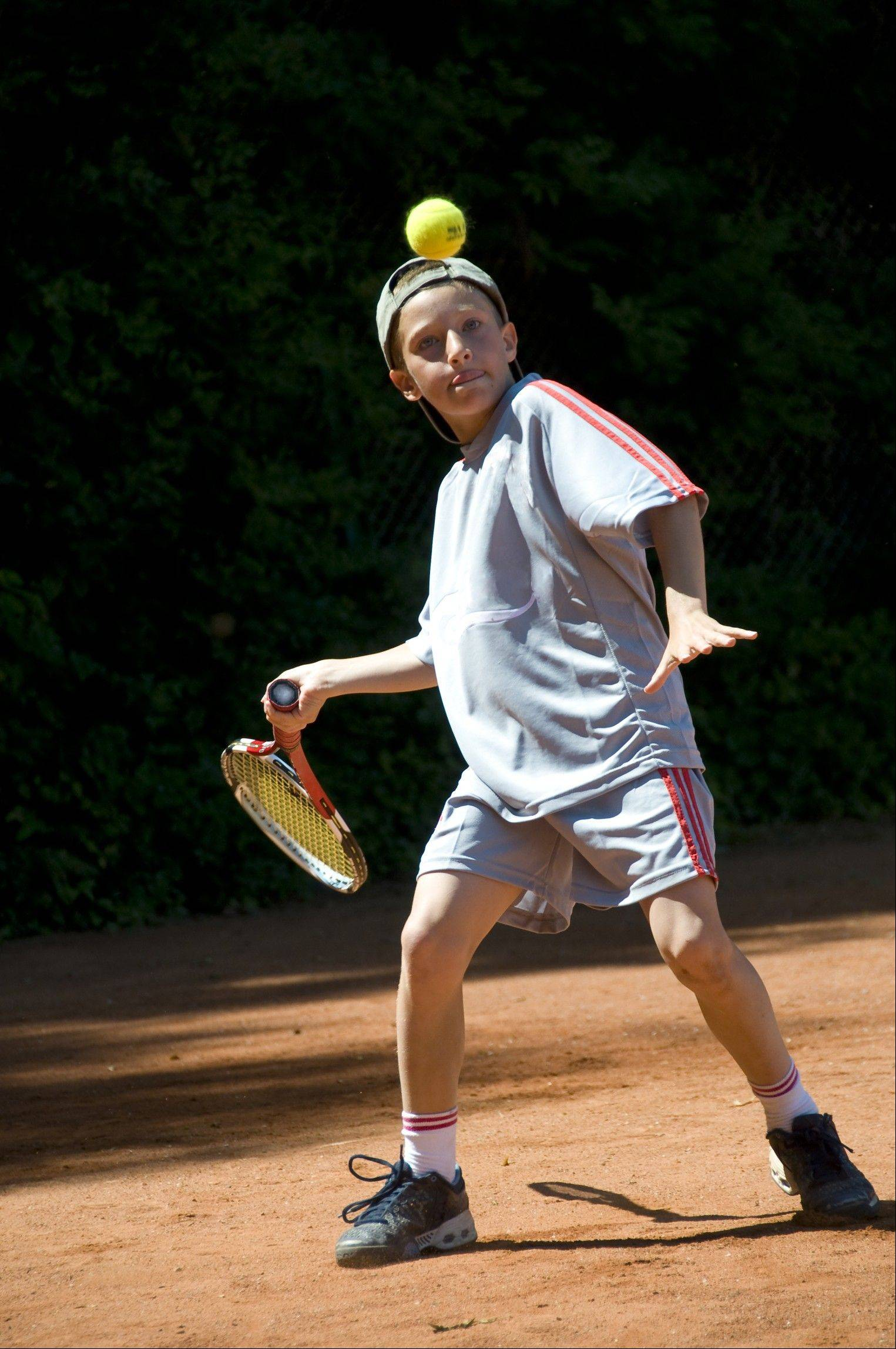 There are new efforts to introduce younger children to the benefits and fun of tennis.