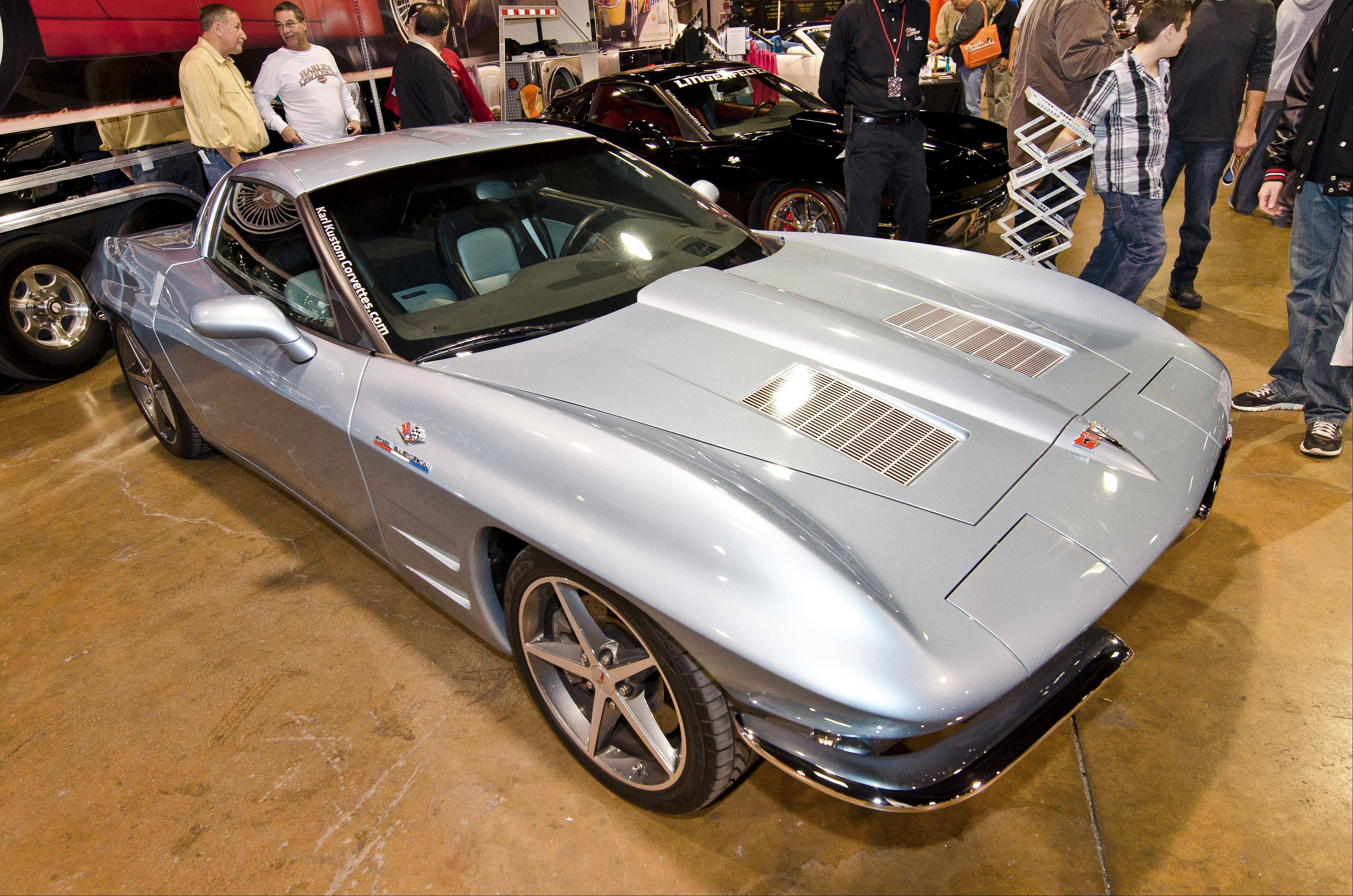 Today, some high-end custom car shops can take a new model, preserve all the safety features and modern technology, and give it the classic lines and styling of their favorite oldies. This new Corvette now features mid-1960s styling.