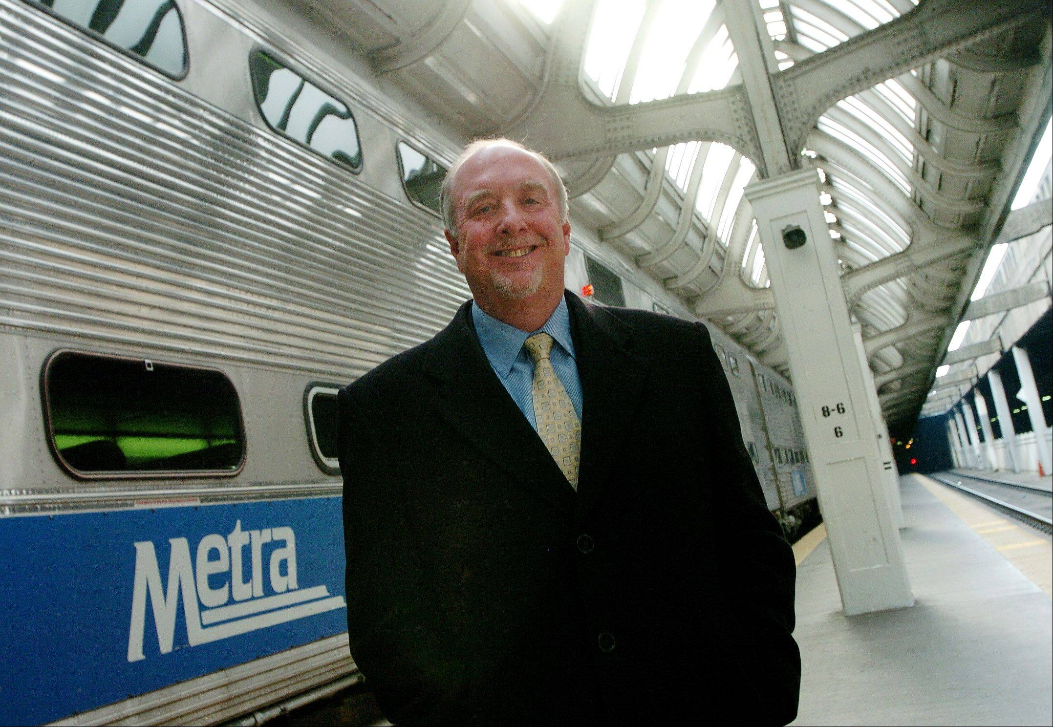New Metra Chairman Brad O'Halloran says the allocation of funds within t
