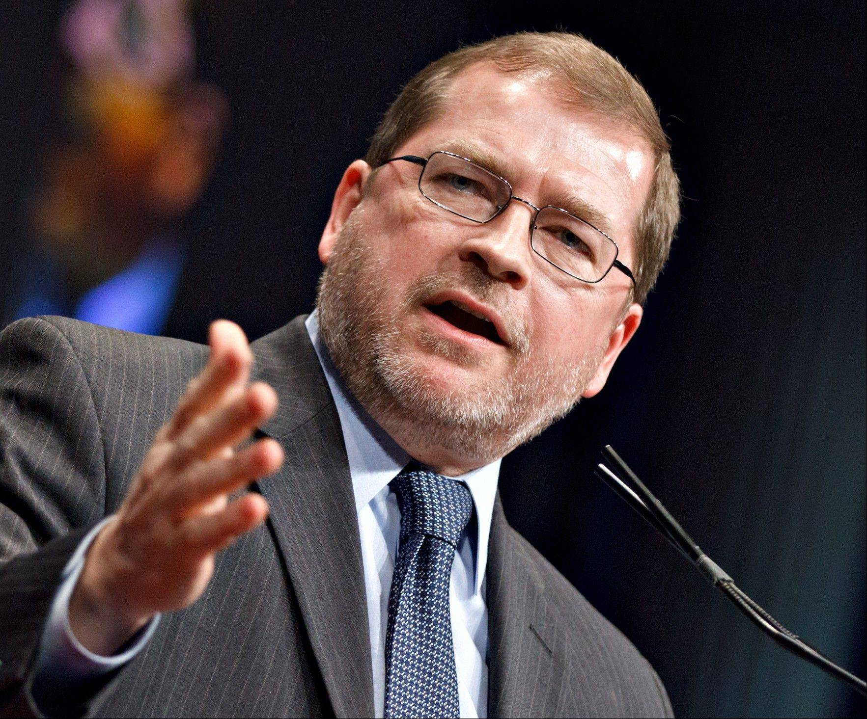 Anti-tax activist Grover Norquist, president of Americans for Tax Reform