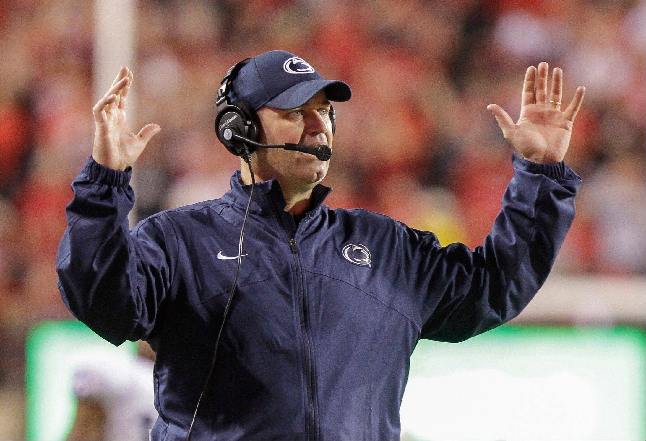 Penn State head coach Bill O�Brien on Tuesday was named the Big Ten�s coach of the year, earning allocates from fellow coaches and the sportswriters reporting on the conference.