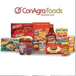ConAgra Foods is buying private-label food producer Ralcorp for about $4.95 billion, which will make it the biggest private-label packaged food business in North America.
