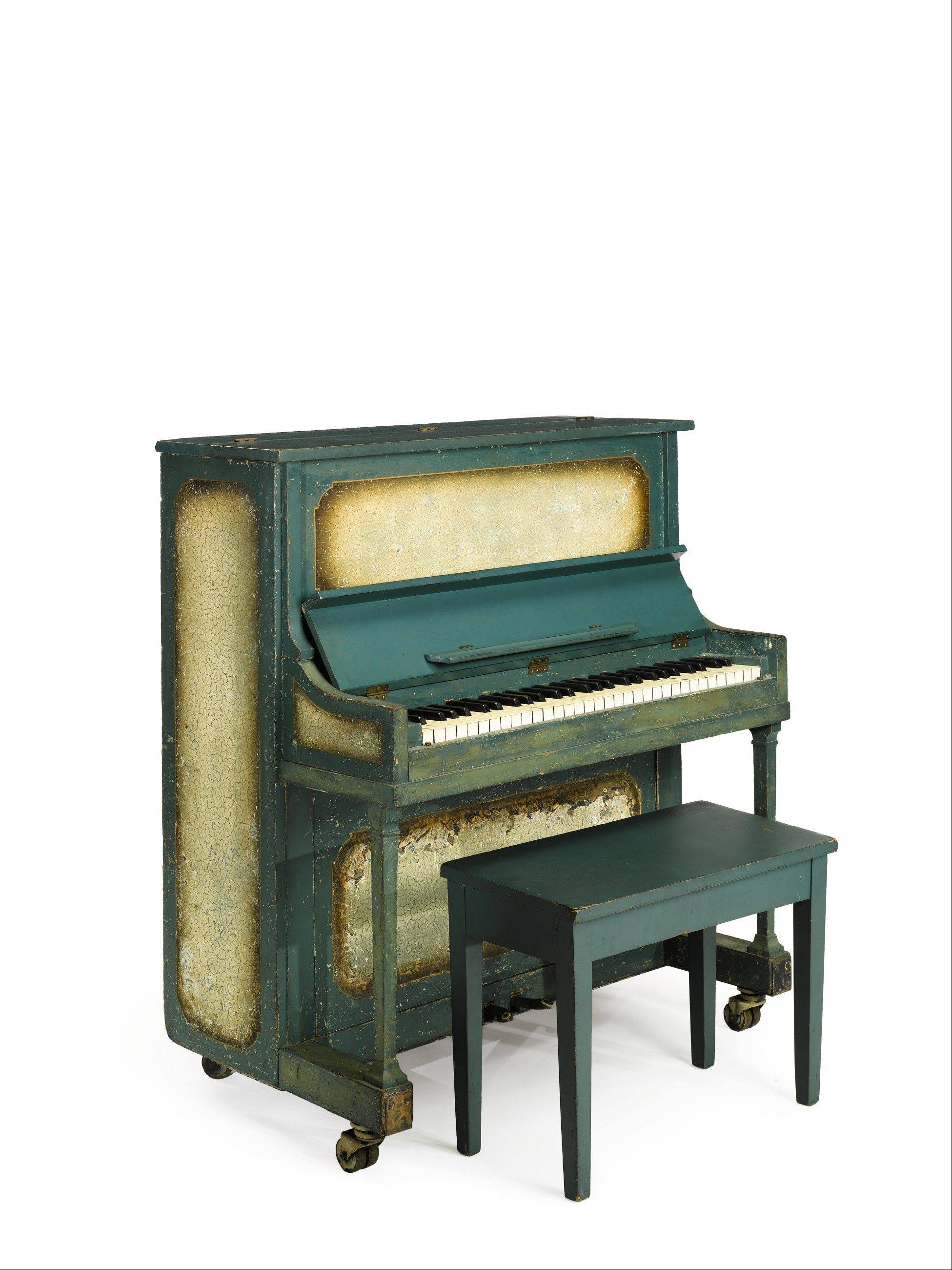 "The piano used in the movie ""Casablanca"" is going up for sale at Sotheby's in New York on Dec. 14, 2012. The auction house estimates it could fetch up to $1.2 million."