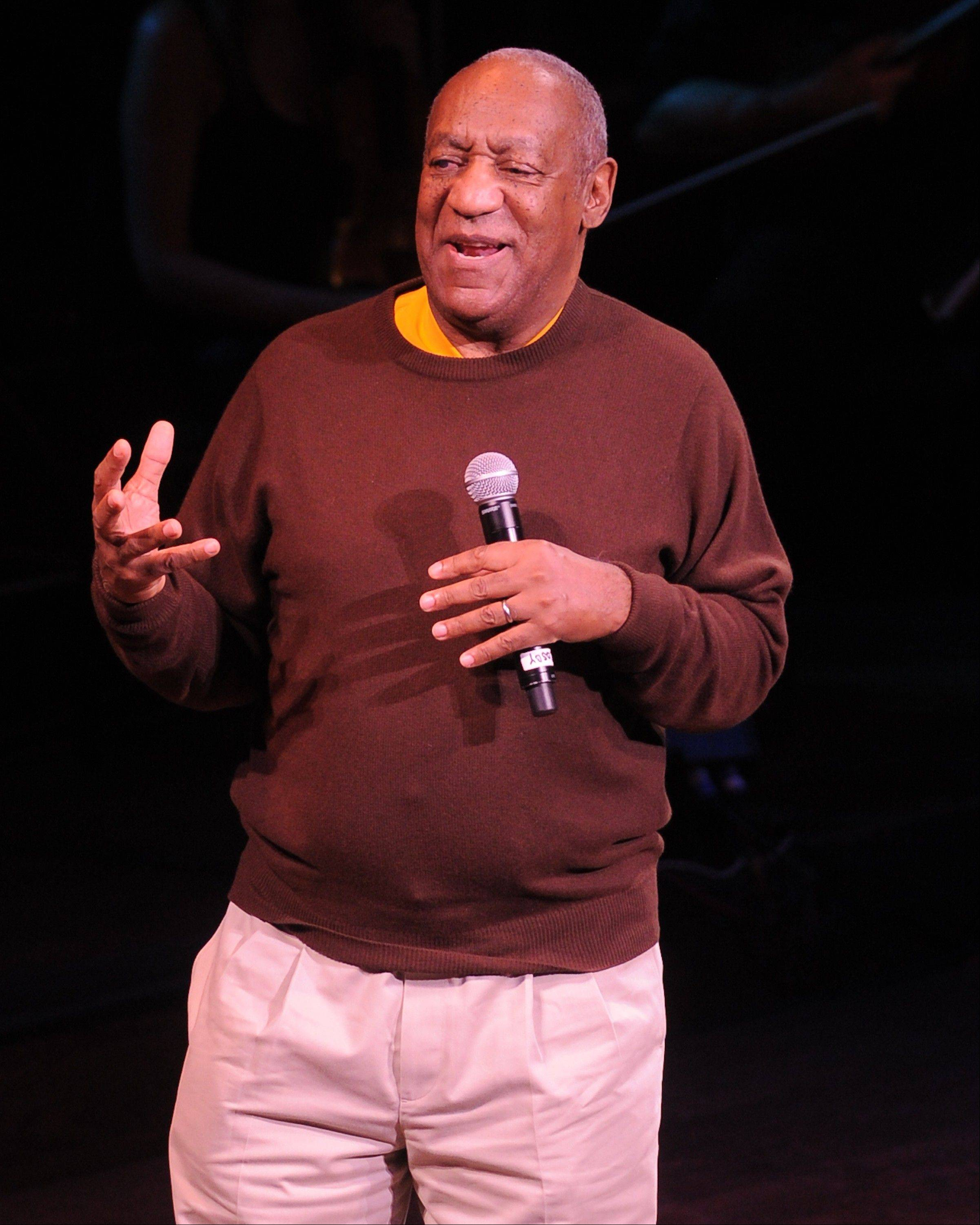 Comedian Bill Cosby appears at the Genesee Theatre on Saturday, Dec. 1.