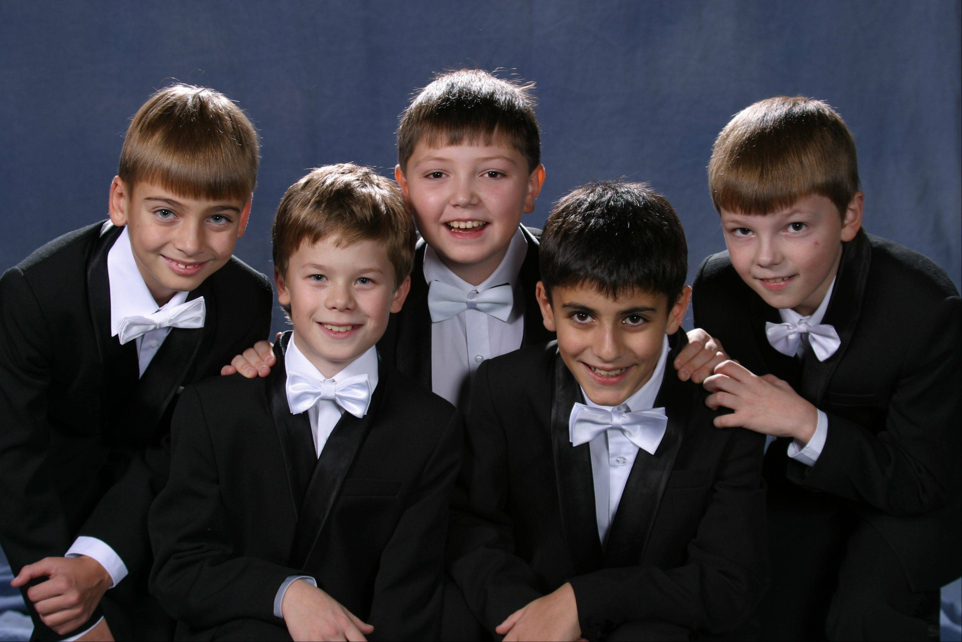 "The Moscow Boys Choir will entertain audiences at ""Christmas Around the World"" at College of Lake County's Lumber Center for the Performing Arts on Tuesday, Dec. 4."