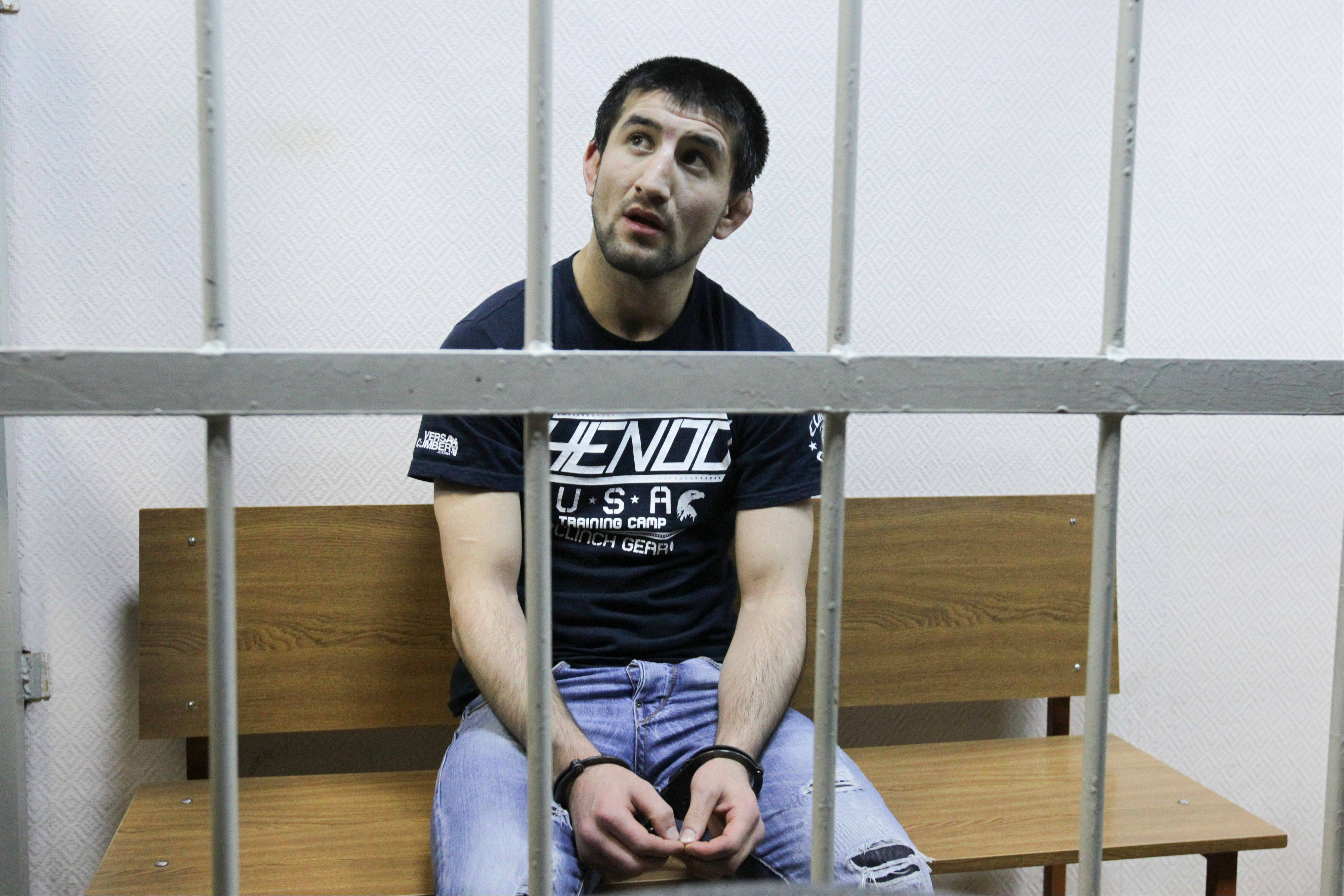 Russian martial arts champion Rasul Mirzayev was found guilty of involuntary manslaughter and sentenced to two years of house arrest over the death of a man he had punched outside a club. The verdict led to protests by nationalists outside the court and prompted Russian riot police to flood the wide square outside the Kremlin to prevent possible violent clashes between nationalists and ethnic minorities from the Caucasus.