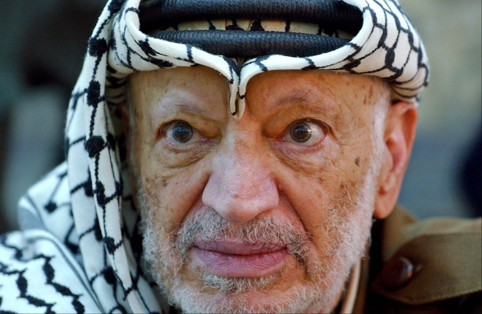 Yasser Arafat's political heirs on Tuesday opened his grave and foreign experts took samples of the iconic Palestinian leader's remains as part of a long-shot attempt -- eight years after his mysterious death -- to determine whether he was poisoned.