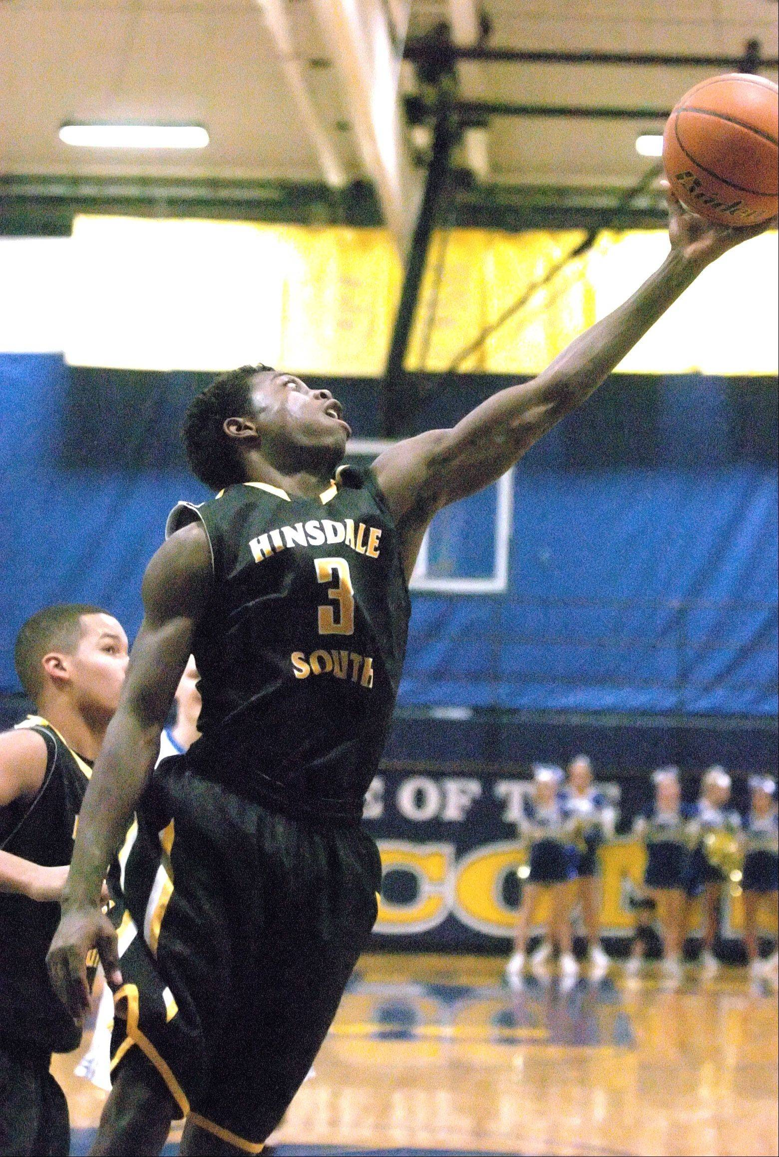 Images from the Hinsdale South vs. Wheaton North basketball game on Tuesday, November 27, 2012.