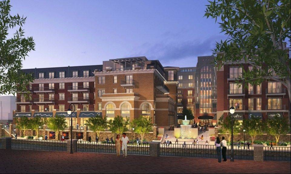 The proposed Water Street project in downtown Naperville has drawn both support and criticism.