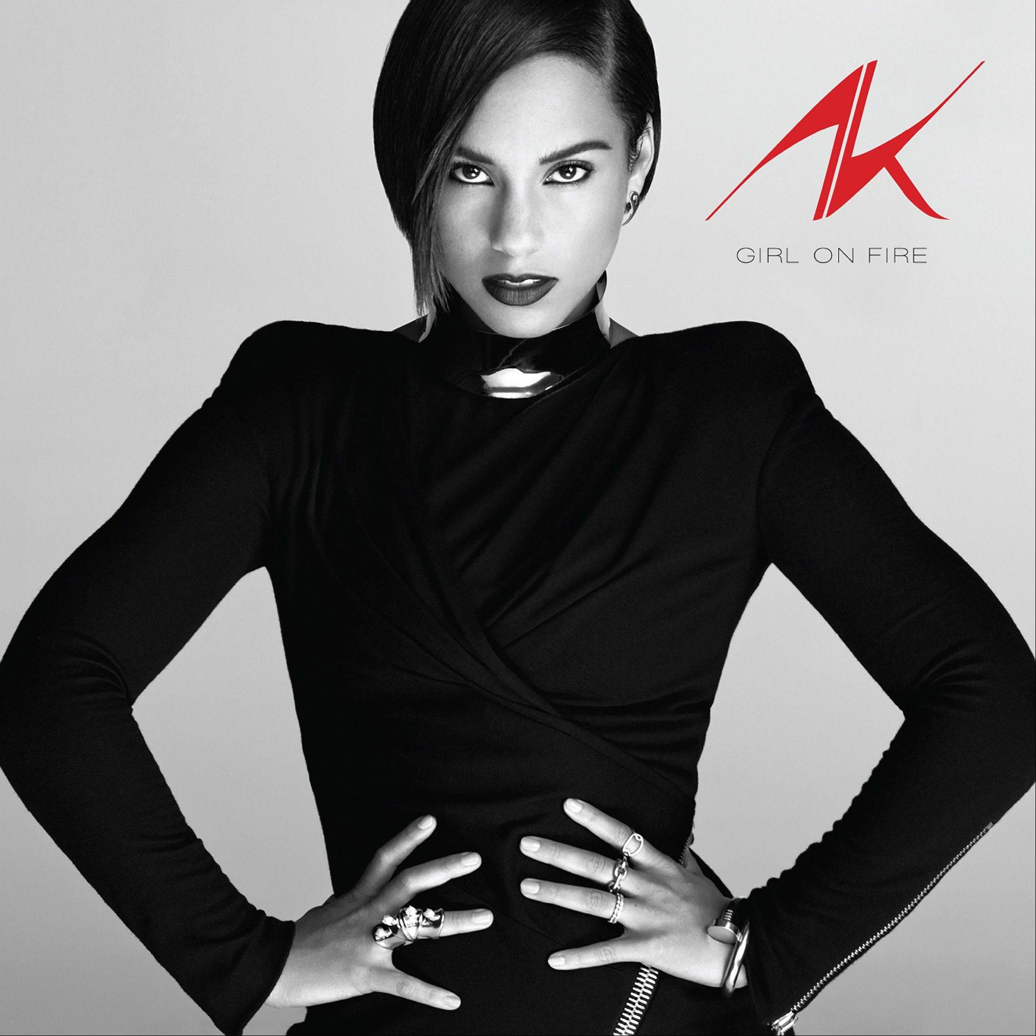"Alicia Keys' ""Girl on Fire"""