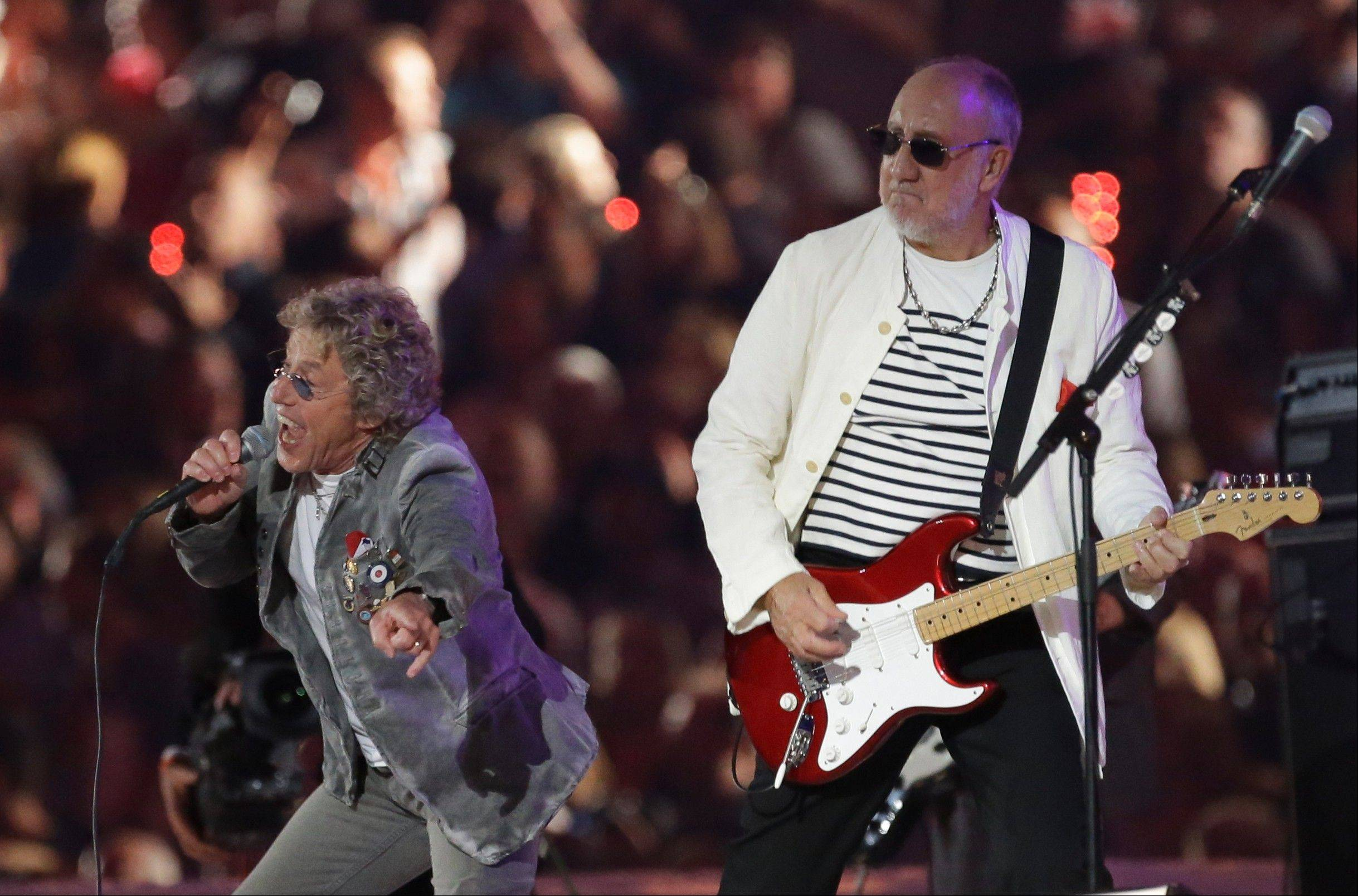 "The Who's singer Roger Daltrey, left, and Pete Townshend will perform ""Quadrophenia"" in its entirety this weekend at Allstate Arena."