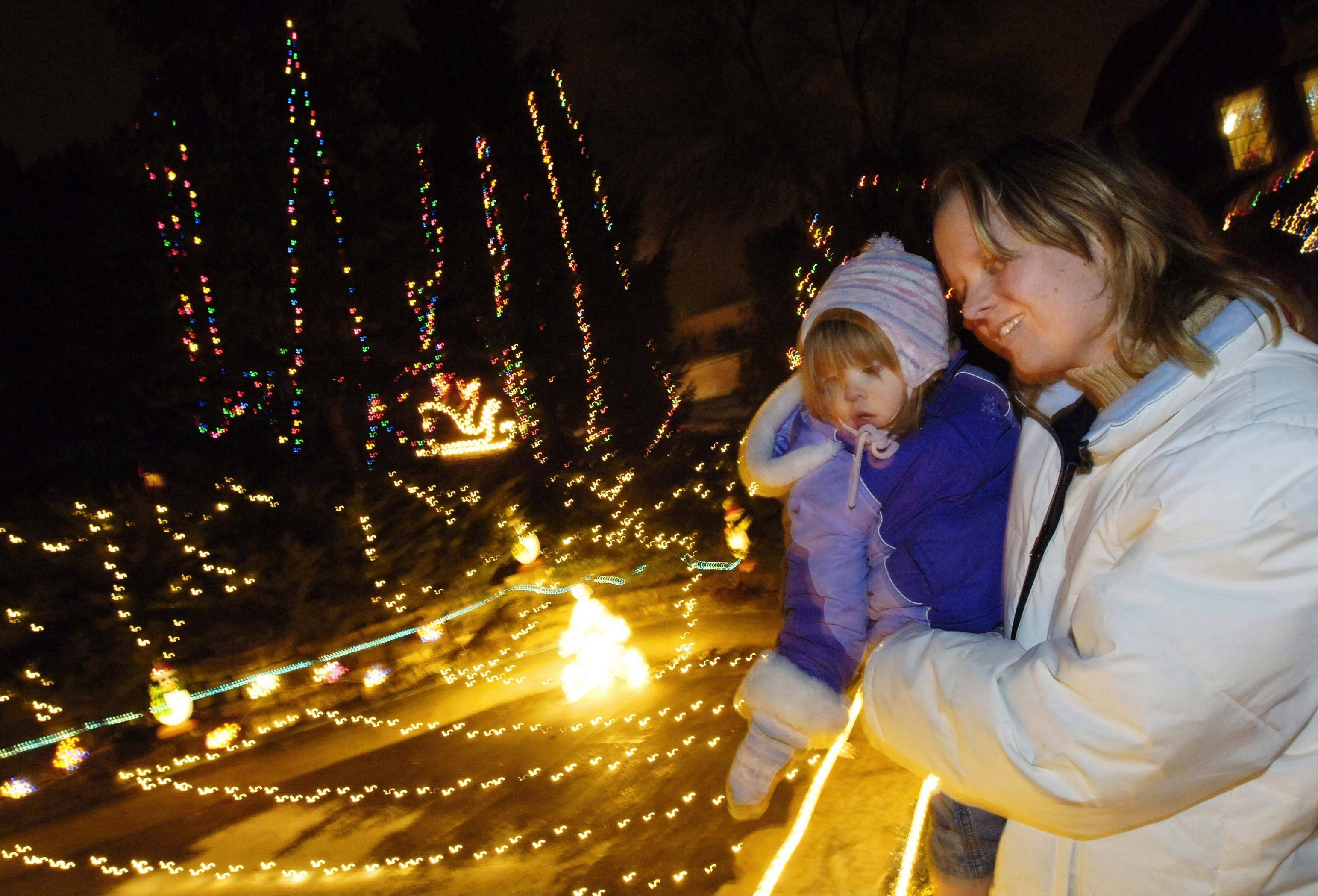 Lilacia Park will become festive and bright at 6 p.m. Saturday, Dec. 1, during the seventh annual Jinglebell Jubilee holiday festival.