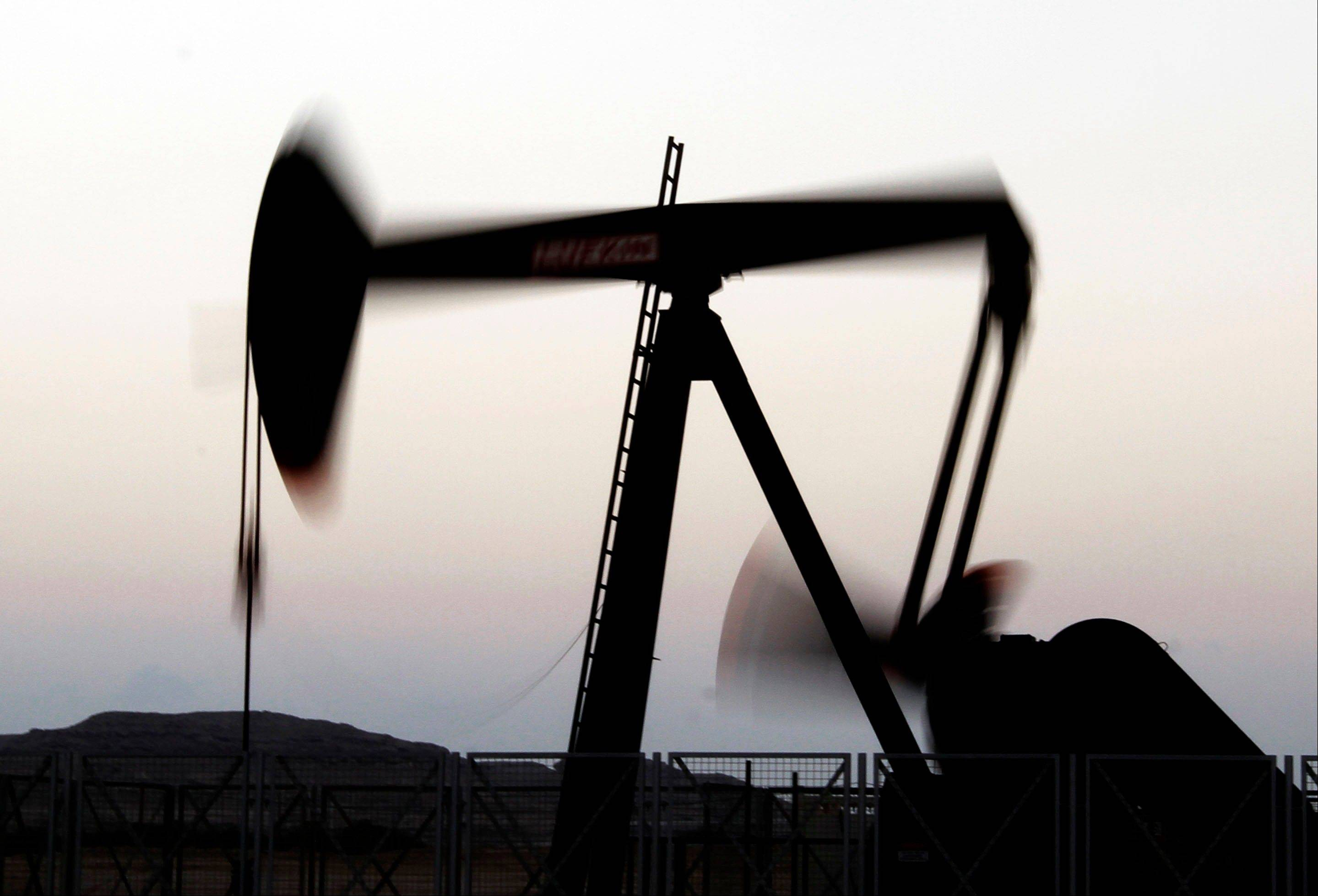 The price of oil fell below $87 a barrel Wednesday after the Organization for Economic Cooperation and Development cut its growth outlook for the U.S. and the 17 countries that use the euro currency.