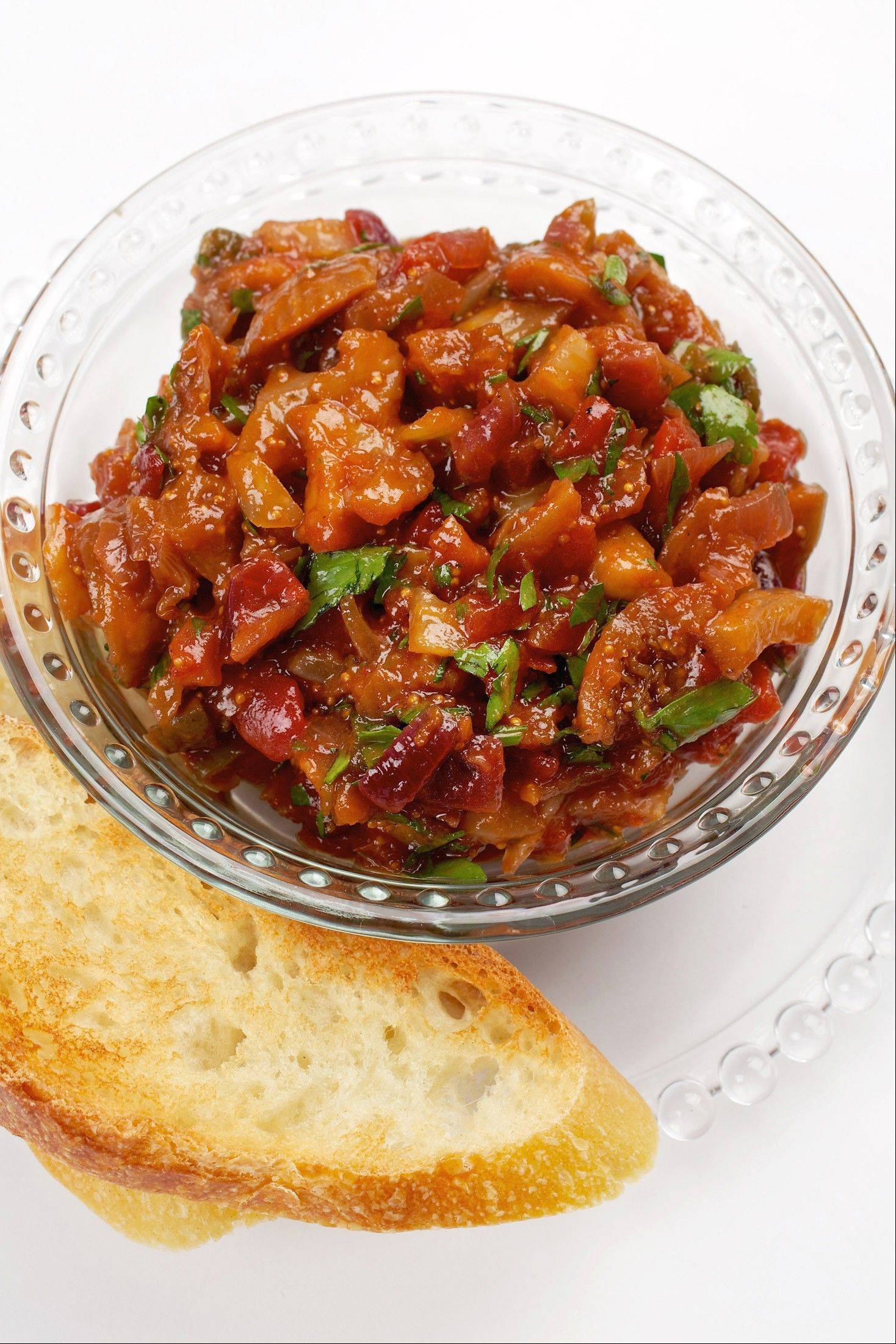 Fig and Fennel Caponata works as an appetizer or a topping for pork or fish.