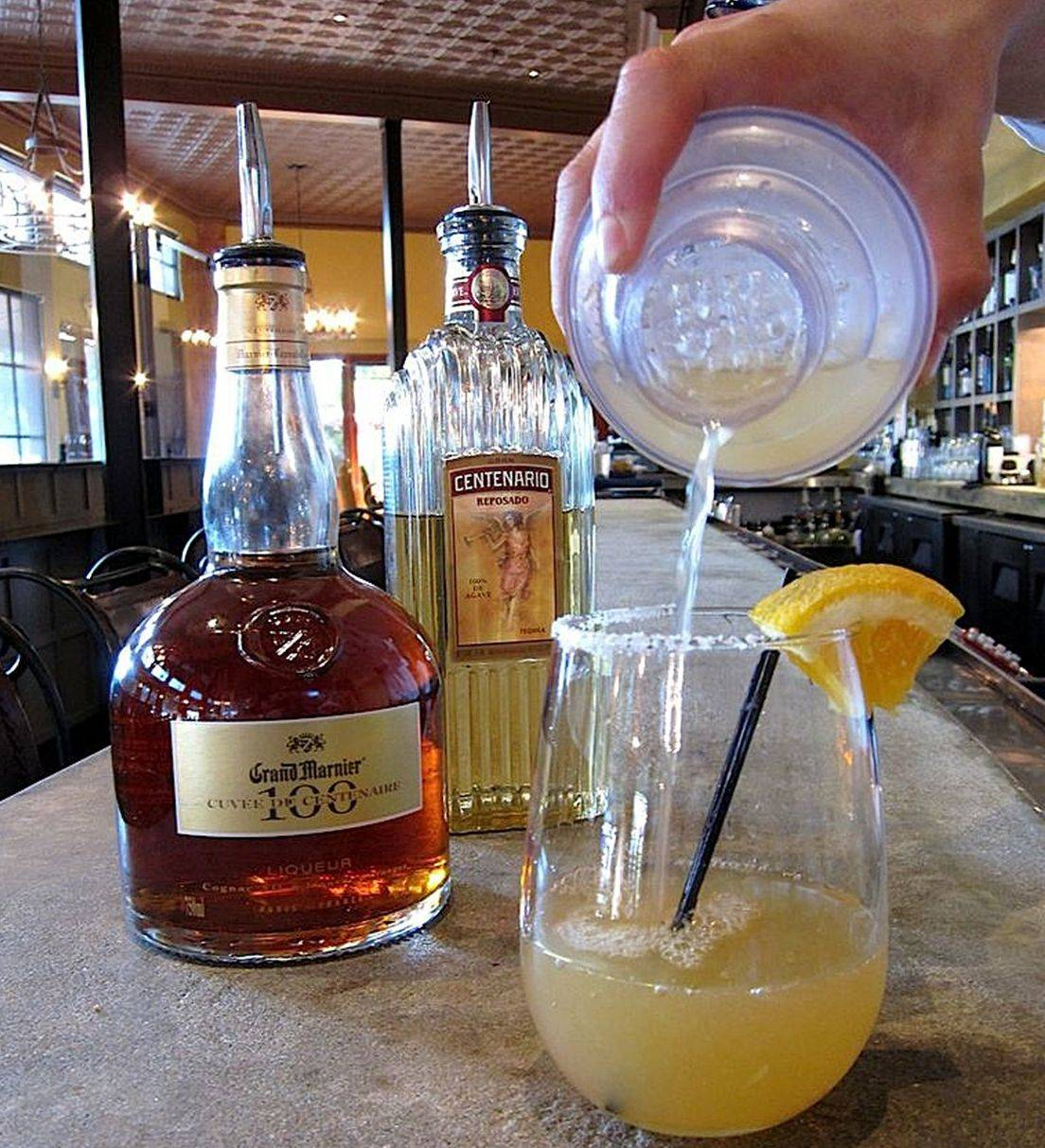 At Hugo's restaurant in Houston, margaritas are made with top-grade tequilas like Centenario and orange liqueurs like Grand Marnier, never as a frozen slush.