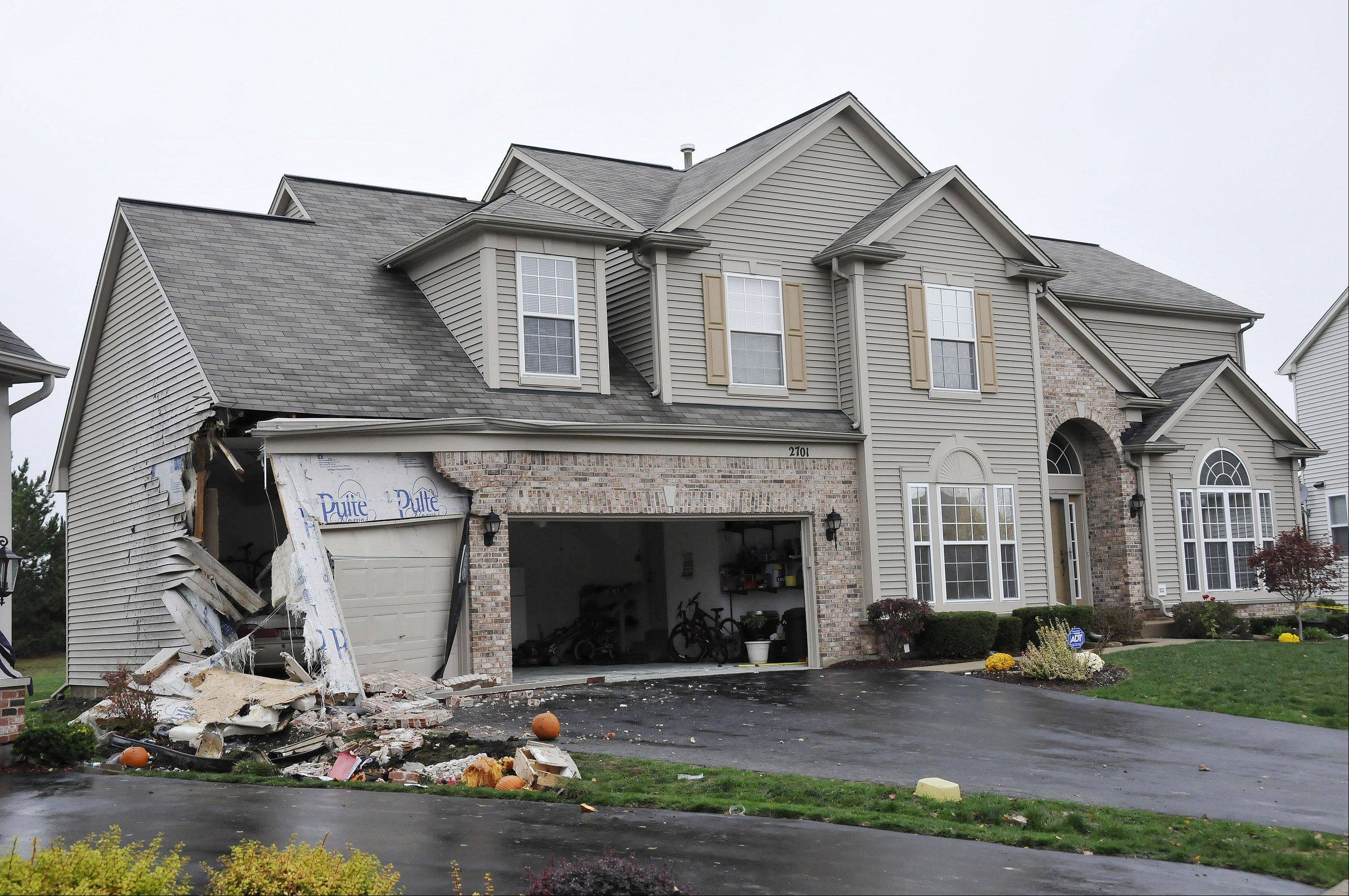 Devin Meadows, 15, of Aurora, was killed Oct. 23 when the car he was riding in crashed into a house's attached garage on the 2700 block of Hamman Way in Aurora. The alleged driver, Logan Krogman, is charged with reckless homicide.