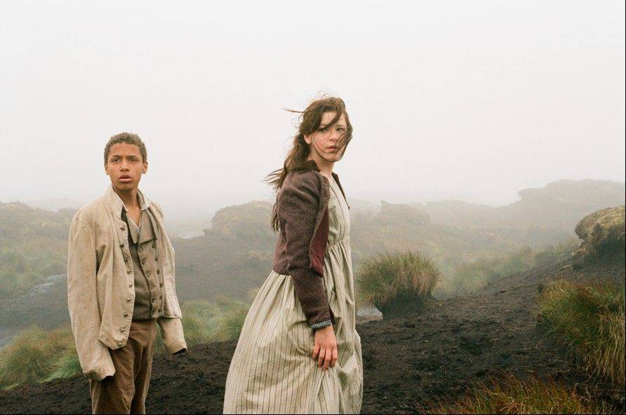 "Solomon Glave is Heathcliffe and Shannon Beer is Catherine in Andrea Arnold's poetic reinvention of Emily Bronte's novel ""Wuthering Heights."""
