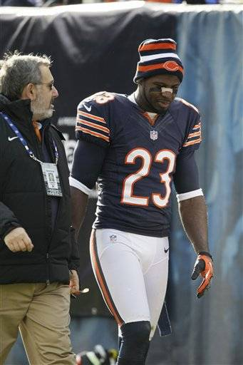 Return specialist Devin Hester and guard Chris Spencer have been ruled out for Sunday's game against Seattle. Both players were injured in a win over Minnesota last weekend. Hester had a concussion and Spencer has a knee injury.