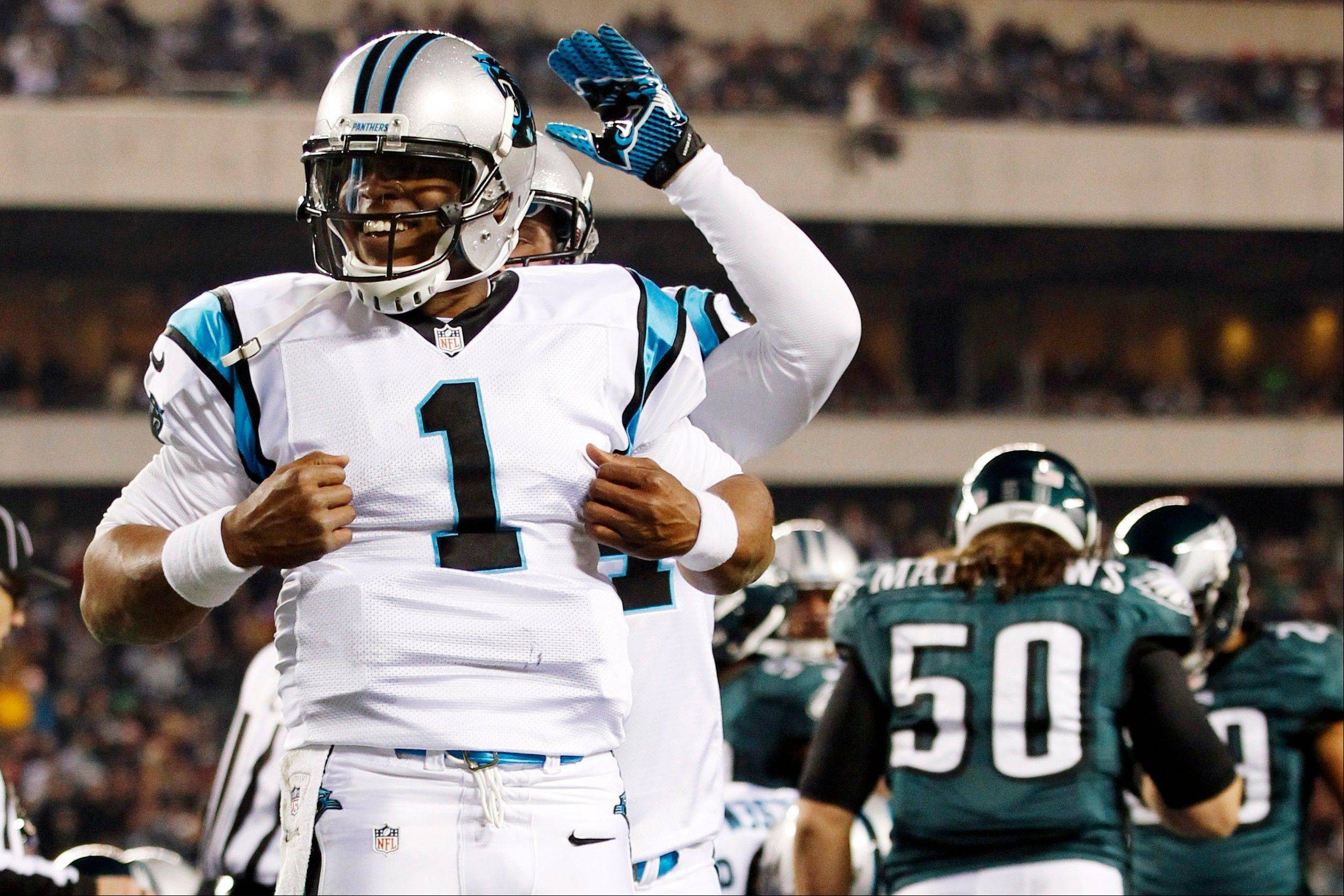 Carolina's Cam Newton ranked No. 20 in fantasy football scoring after the first half of the NFL season, but since Week 9 he is first in scoring with 9 touchdowns.