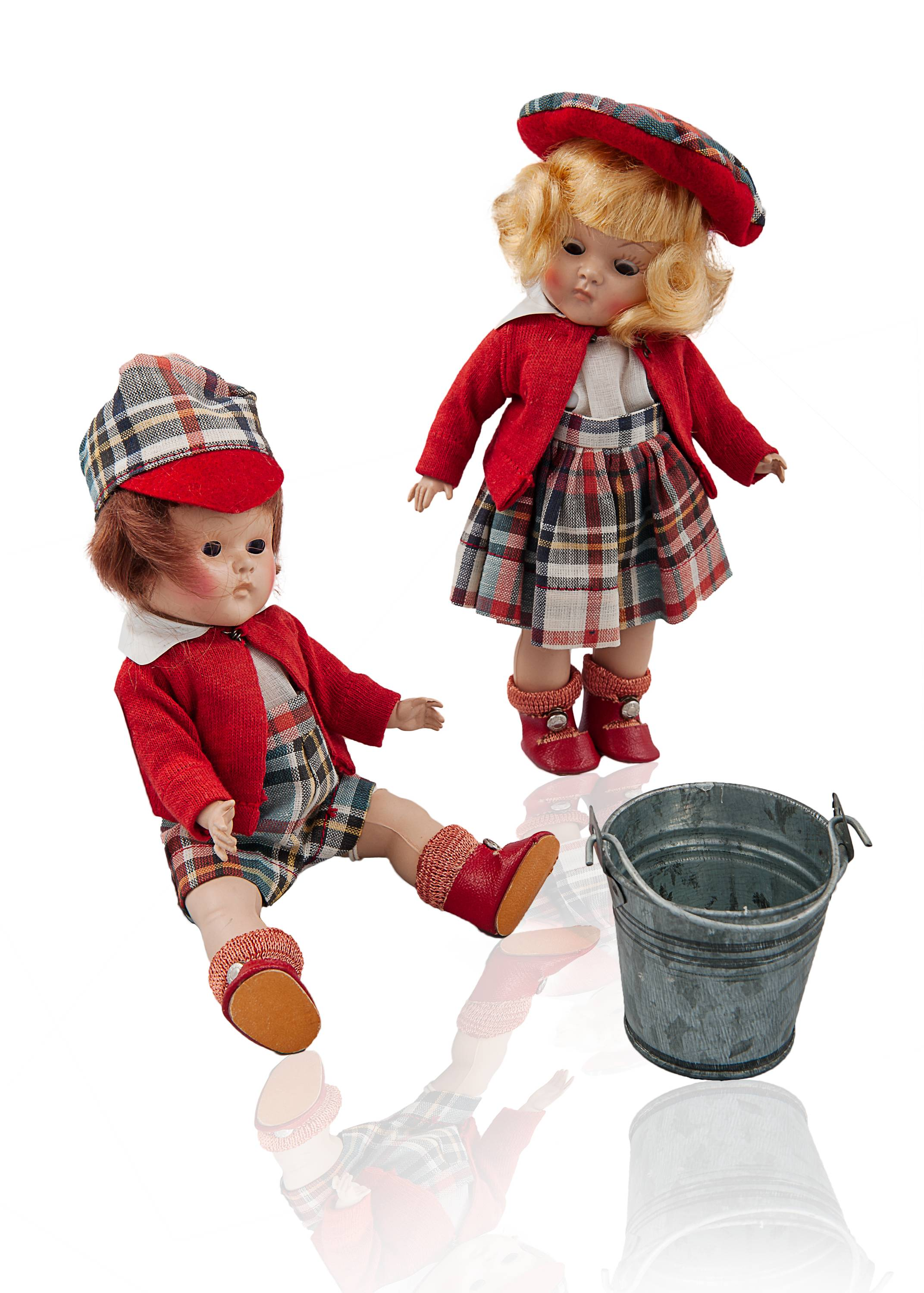 Dolls from the Martha Mills doll collection are paired with favorite nursery rhymes for the Doll Tea on Saturday, December 8.