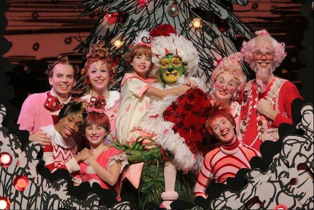 """Dr Seuss' How the Grinch Stole Christmas! The Musical"" runs through Dec. 16 at the Cadillac Palace Theatre."