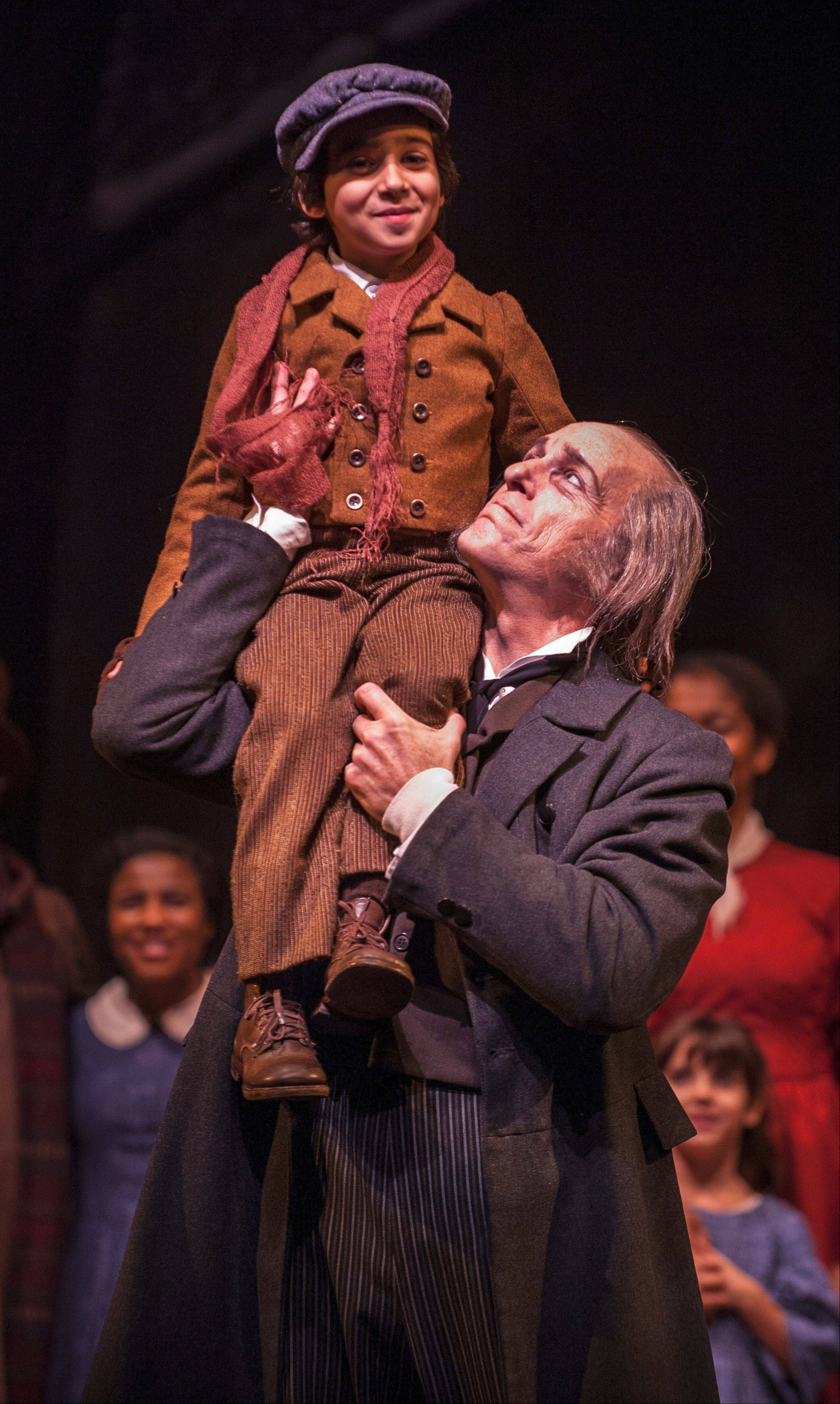 """A Christmas Carol"" runs through Dec. 29 at Goodman Theatre in Chicago."