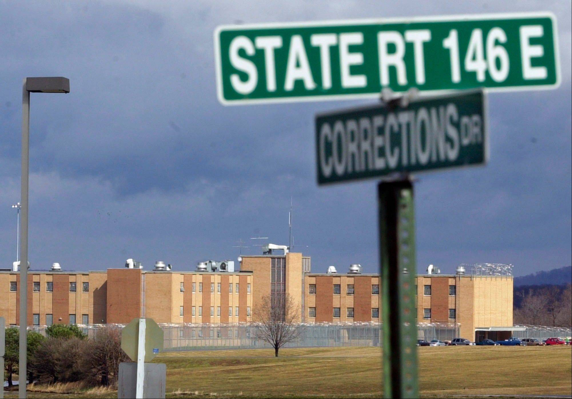 Reporters took a two-hour tour of the minimum-security Vienna Correctional Center in deep southern Illinois on Friday. Cameras were banned, however.