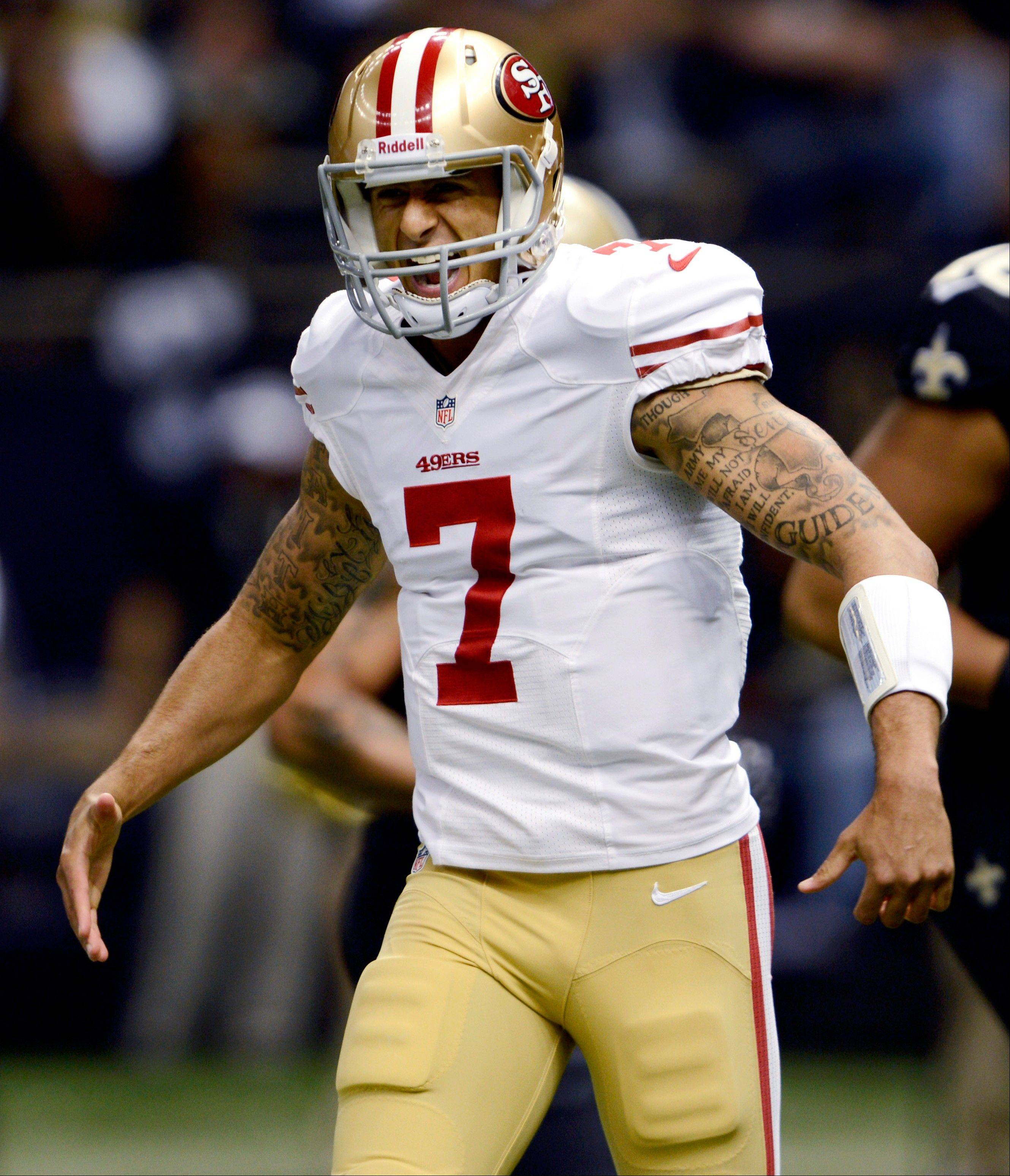 San Francisco 49ers quarterback Colin Kaepernick has the support of his head coach, Jim Harbaugh, but Mike North believes Alex Smith should start for the Niners.