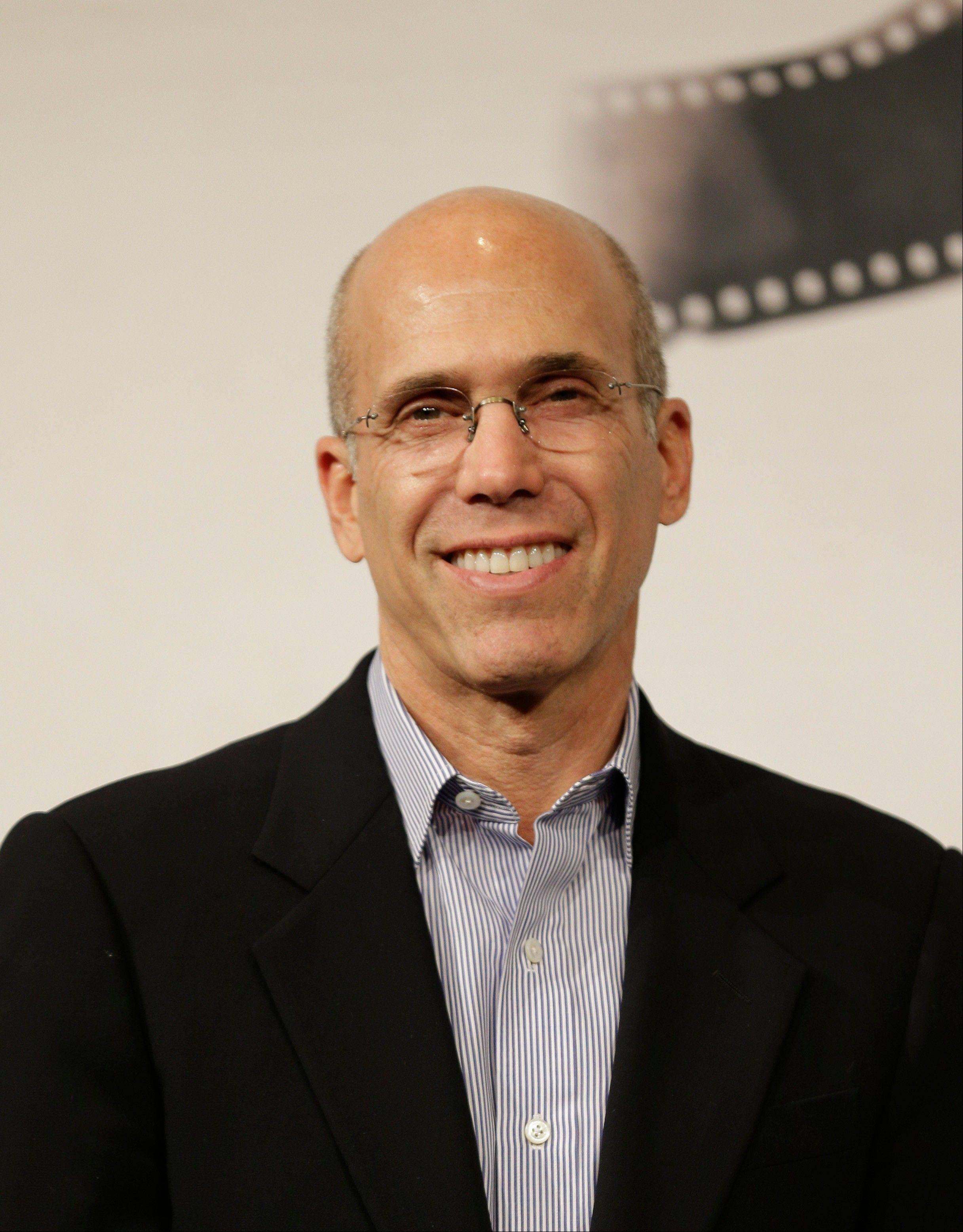 DreamWorks Animation CEO Jeffrey Katzenberg will accept their Oscar statuettes at the 4th annual Governors Awards from the Academy of Motion Picture Arts and Sciences' Board of Governors at a private ceremony Saturday.