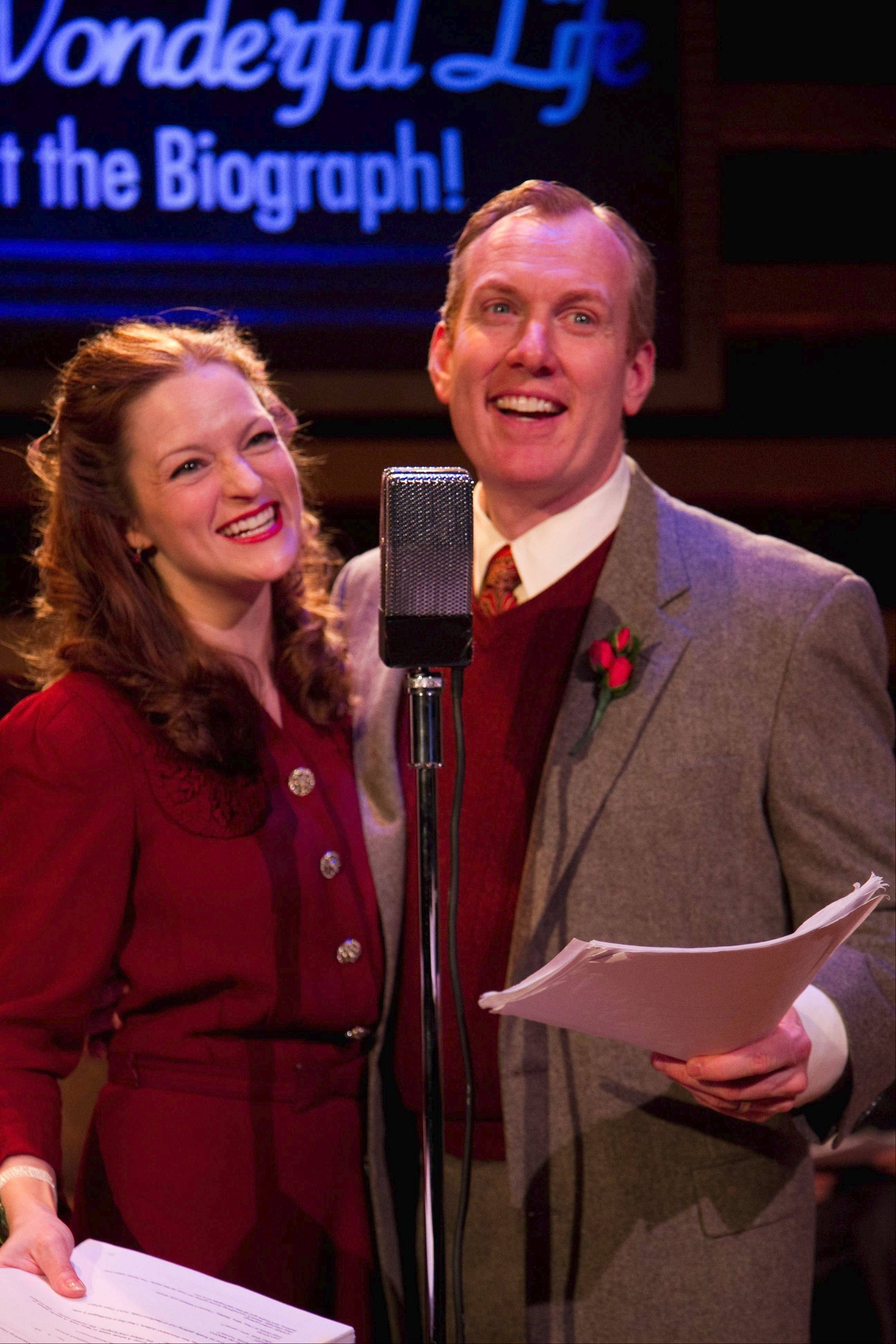 "American Blues Theater's ""It's A Wonderful Life: Live at the Biograph"""