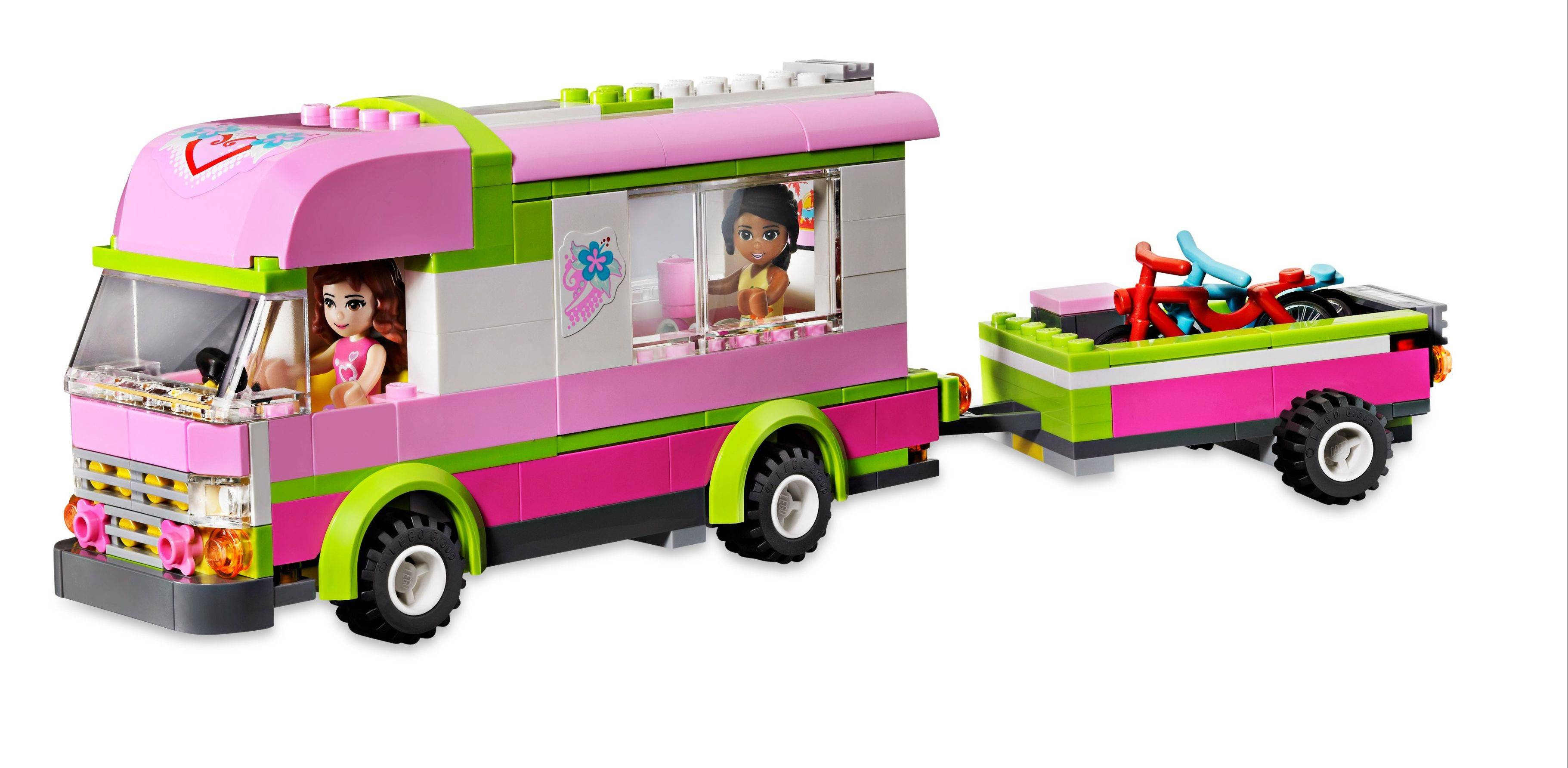 Lego Friends Adventure Camper.