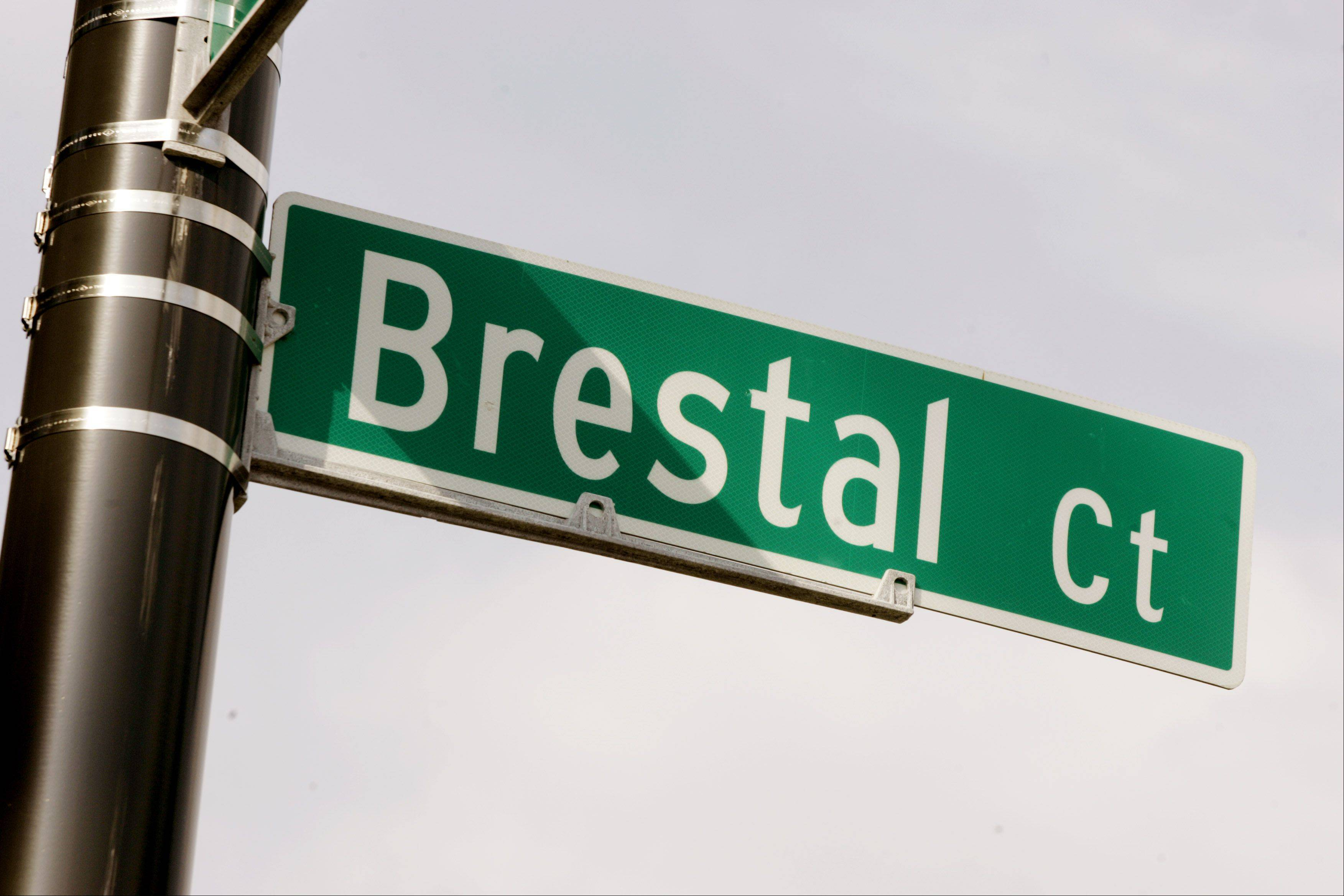 Embattled attorney Bill Brestal has a street named after him in Naperville.