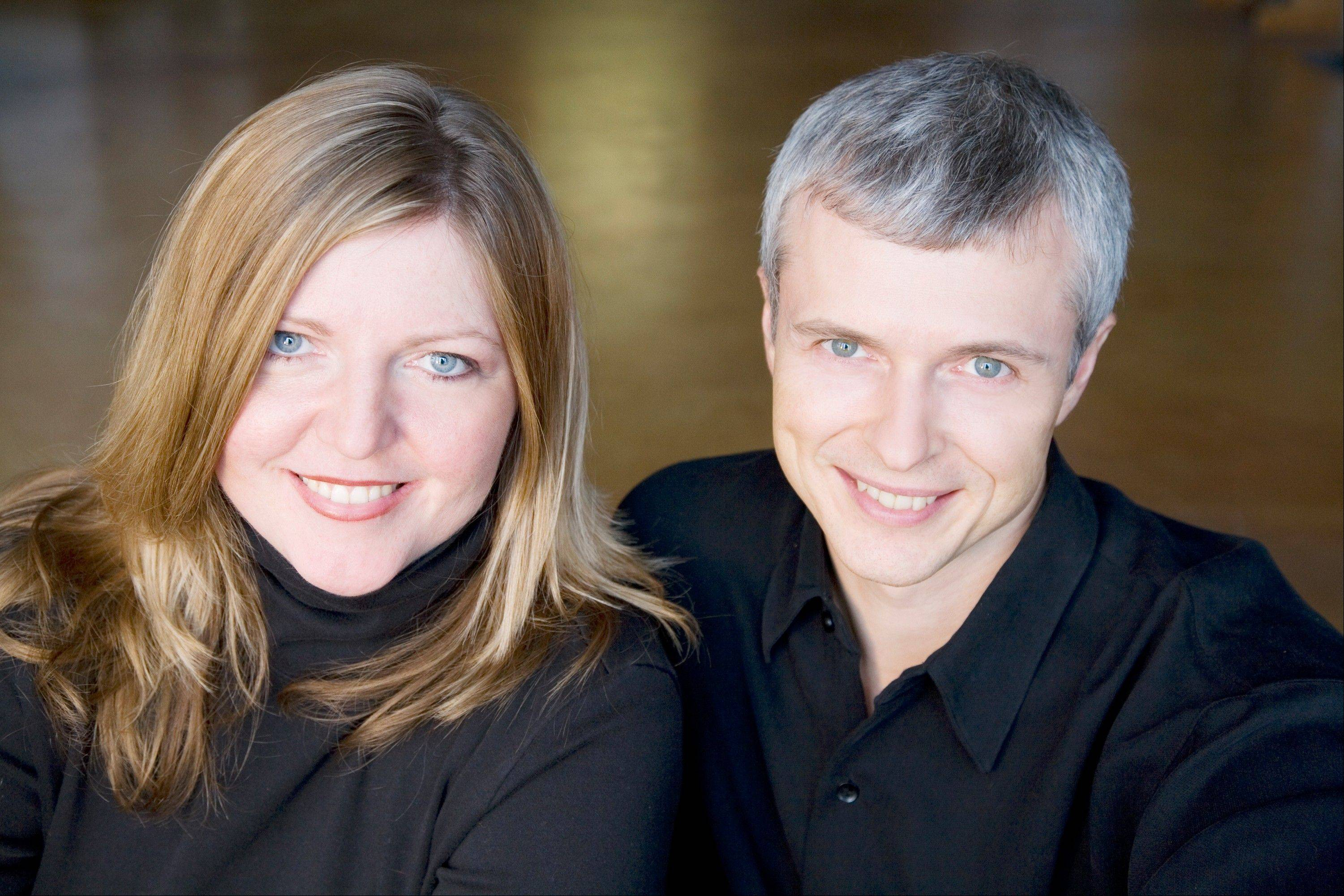 "The ""Celebrate Me Home"" evening concert will feature Cassandra Vohs-Demann and John Hegner."