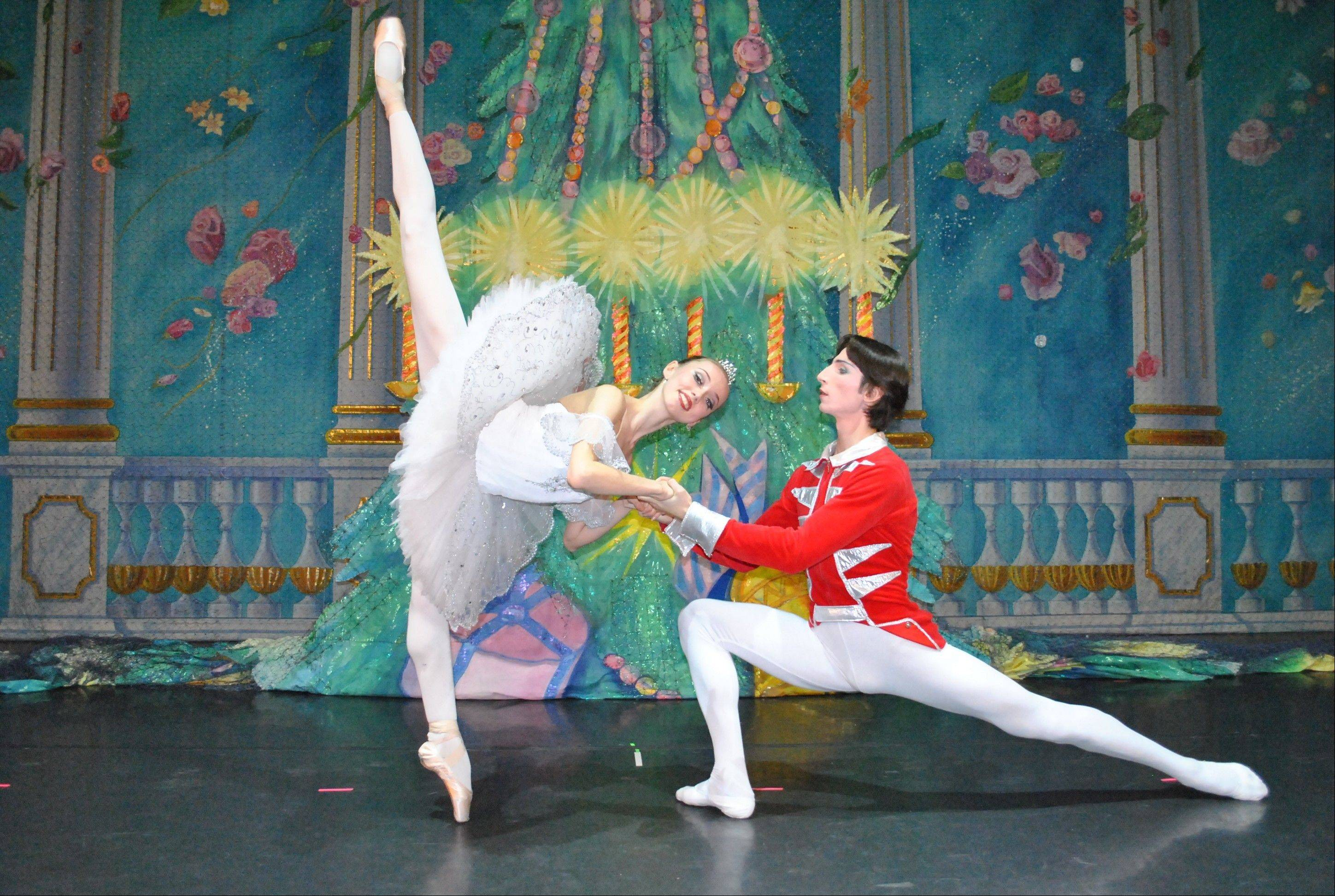 "Dancers from Moscow Ballet's ""Great Russian Nutcracker"" come to the Akoo Theatre at Rosemont on Sunday, Dec. 2."