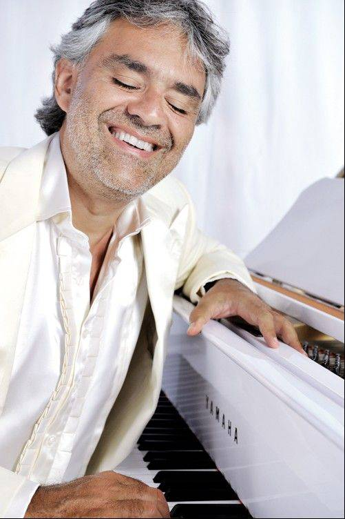 Italian tenor Andrea Bocelli is set to headline the Allstate Arena in Rosemont on Sunday, Dec. 2.
