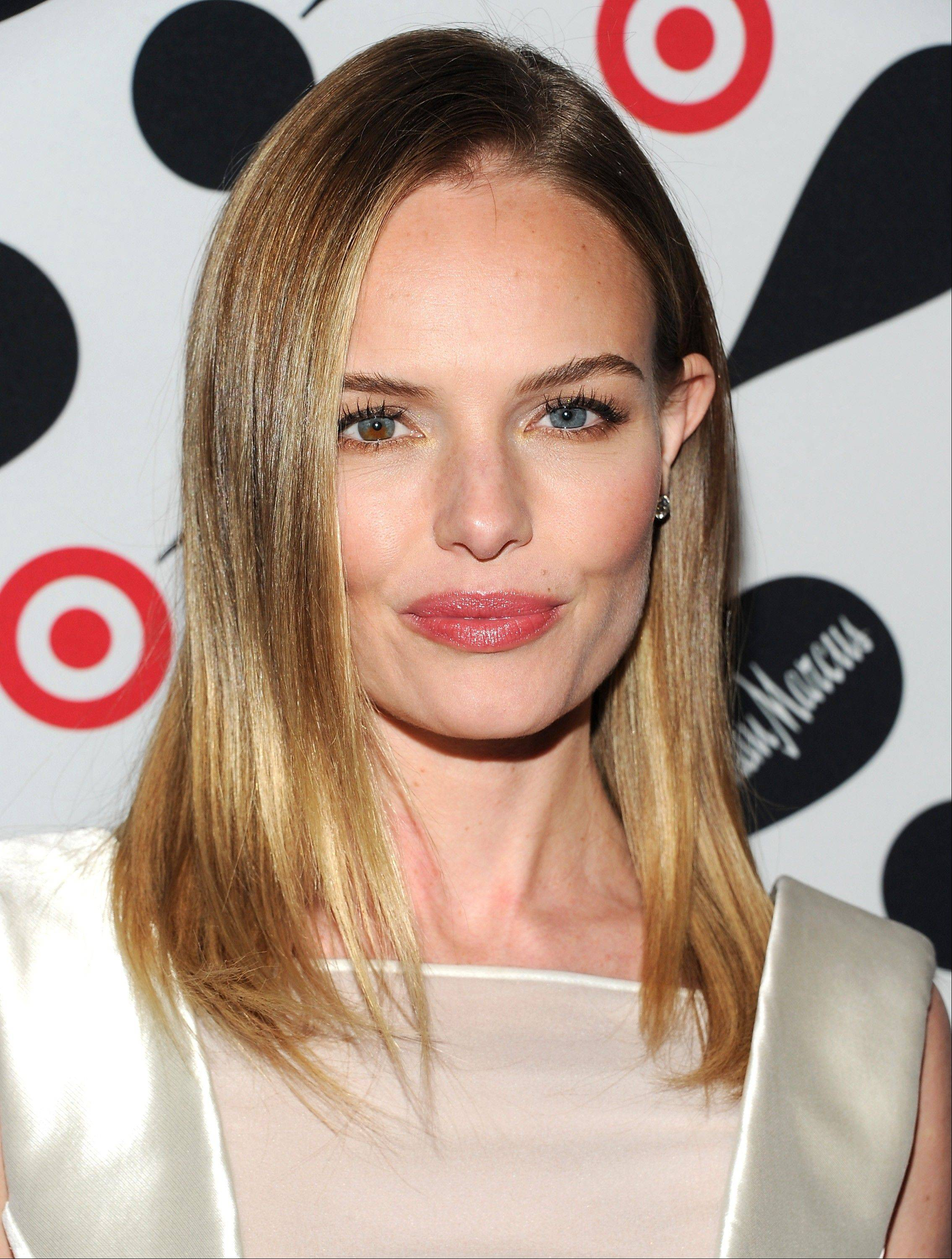 Actress Kate Bosworth attends the Target and Neiman Marcus holiday collection launch in New York.