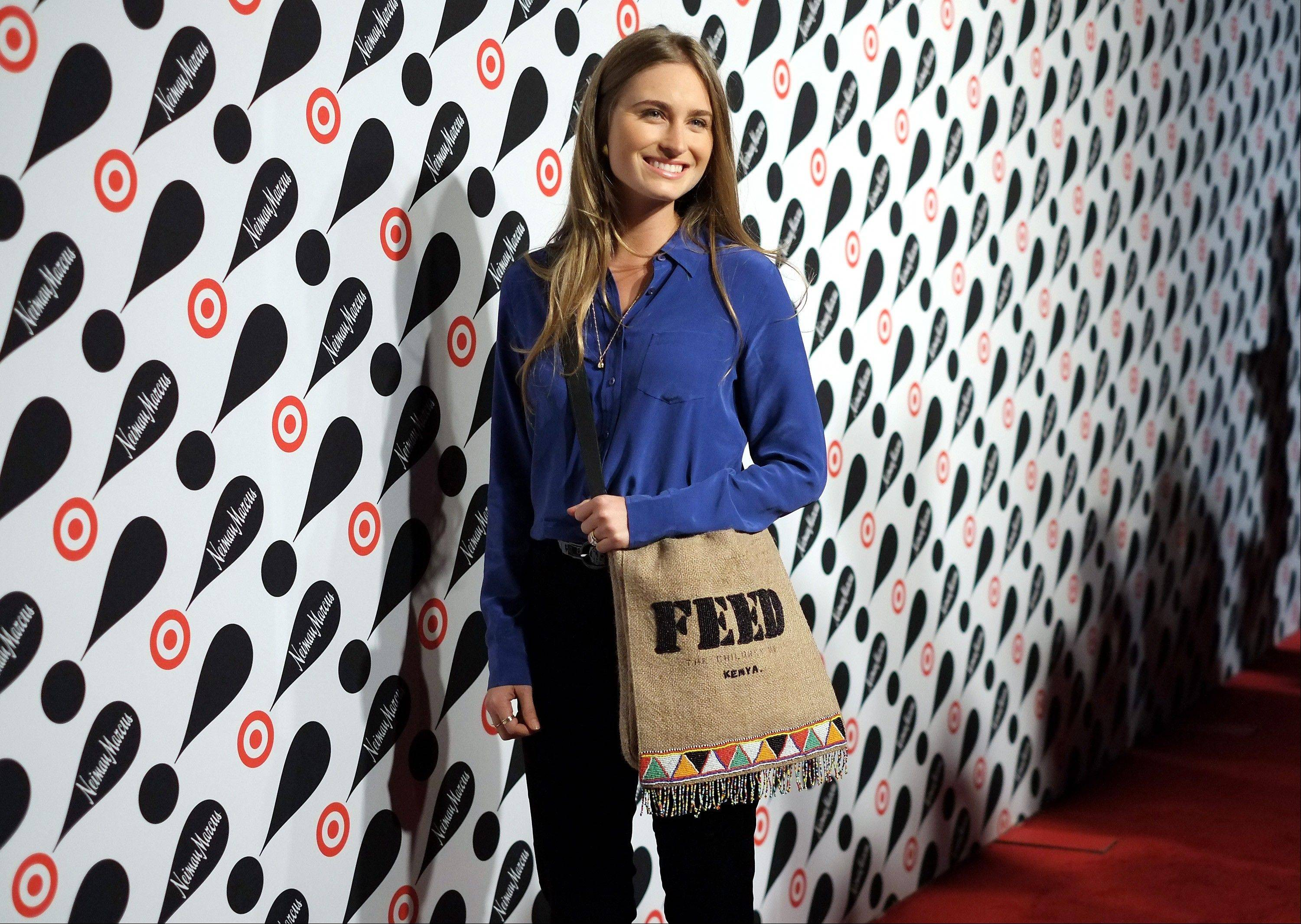 Lauren Bush attends the Target and Neiman Marcus holiday collection launch in New York.