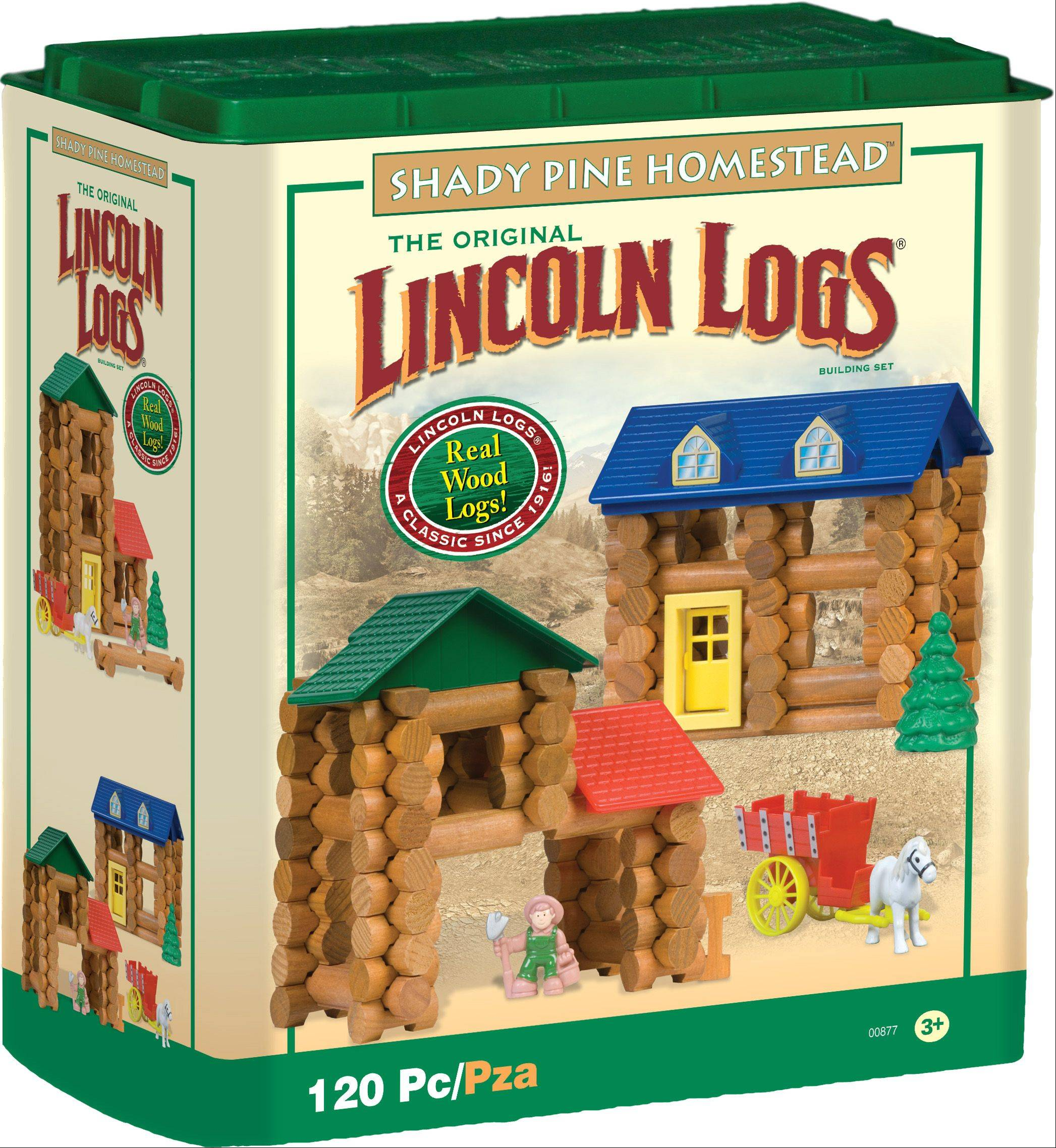 "Lincoln Logs is a good ""together"" game for parents and children with autism. Available at knex.com for $24.99 to $40.99."