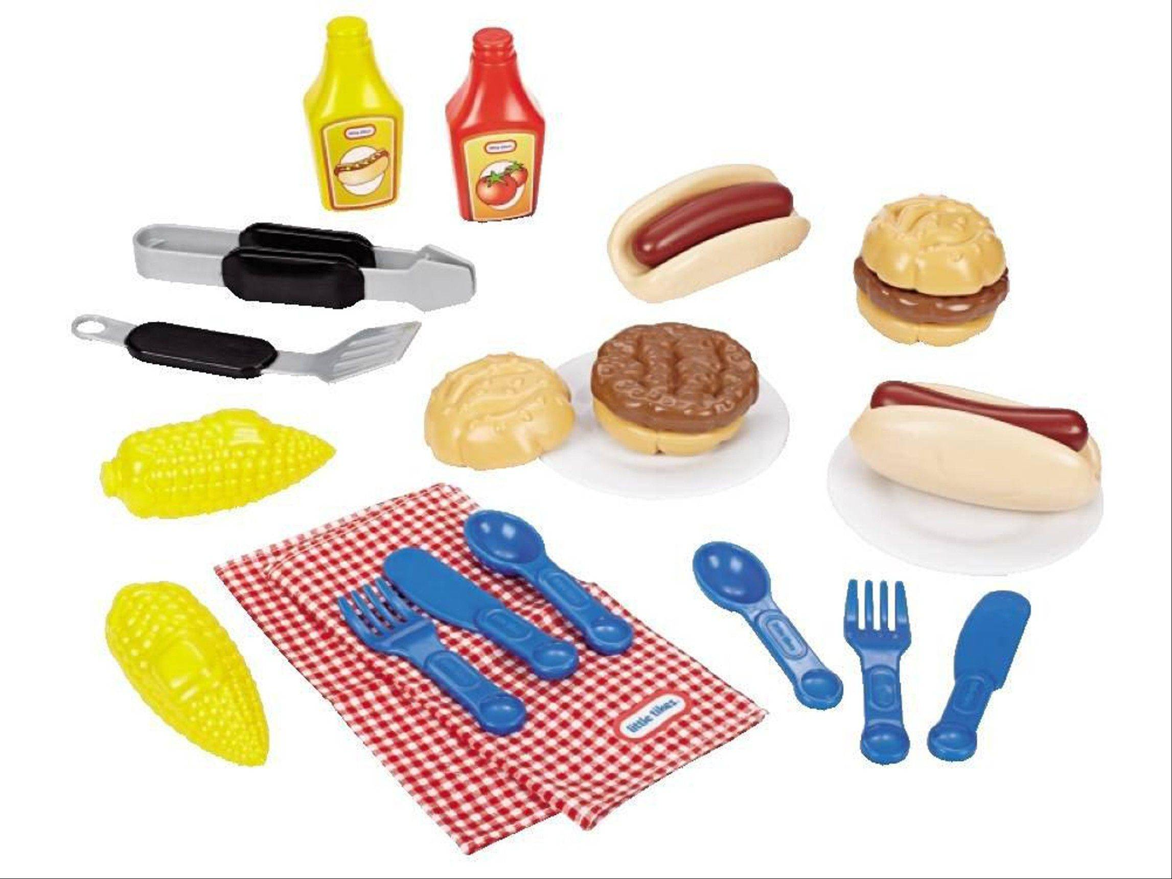 Toys like the Little Tikes Grillin' Goodies Play Barbecue Set, available at toysrus.com for $14.99, encourage children with autism to engage in shared play, experts say.