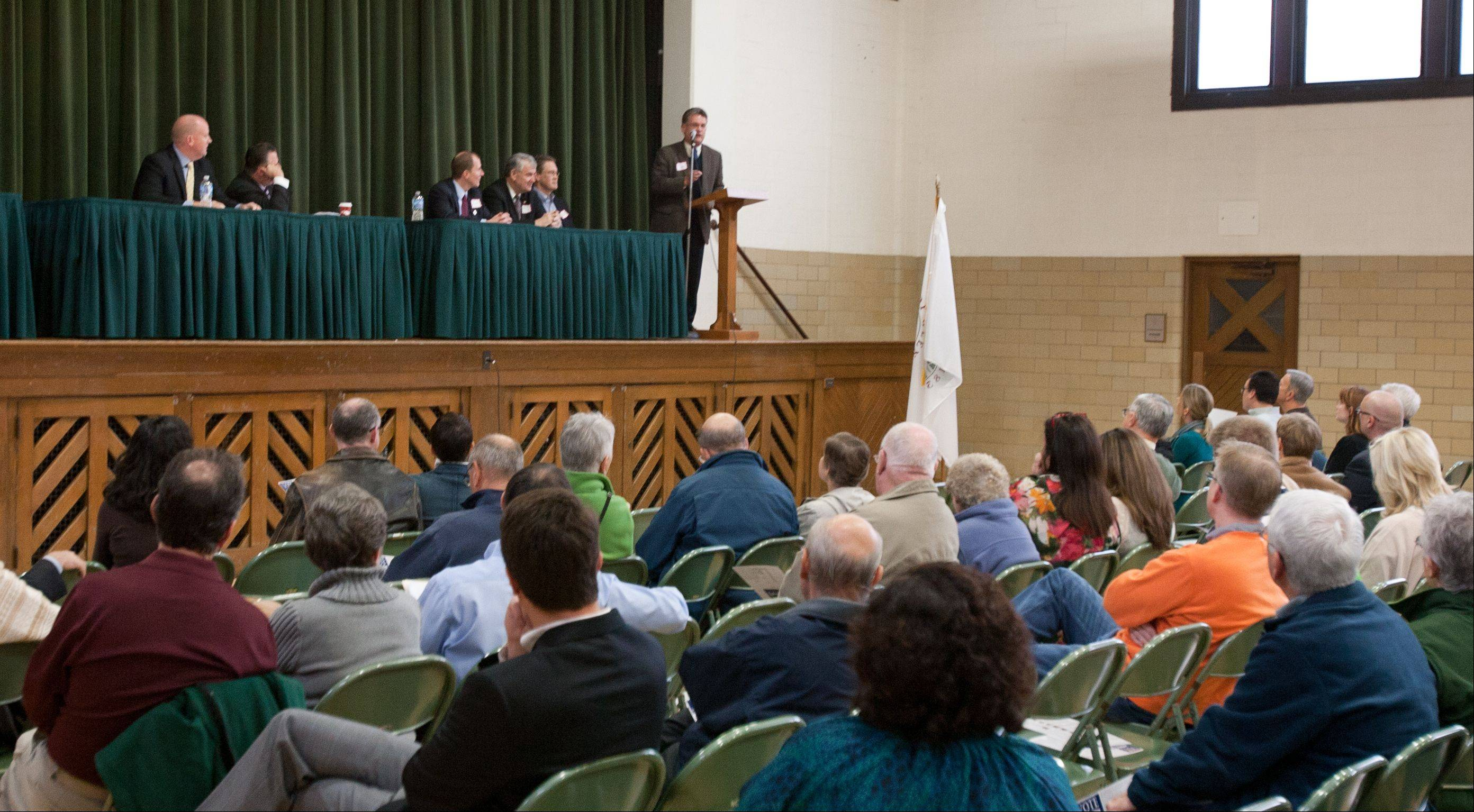 The Glen Ellyn Civic Betterment Party held its biennial town meeting Saturday, where residents selected candidates to appear on the spring 2013 ballot.