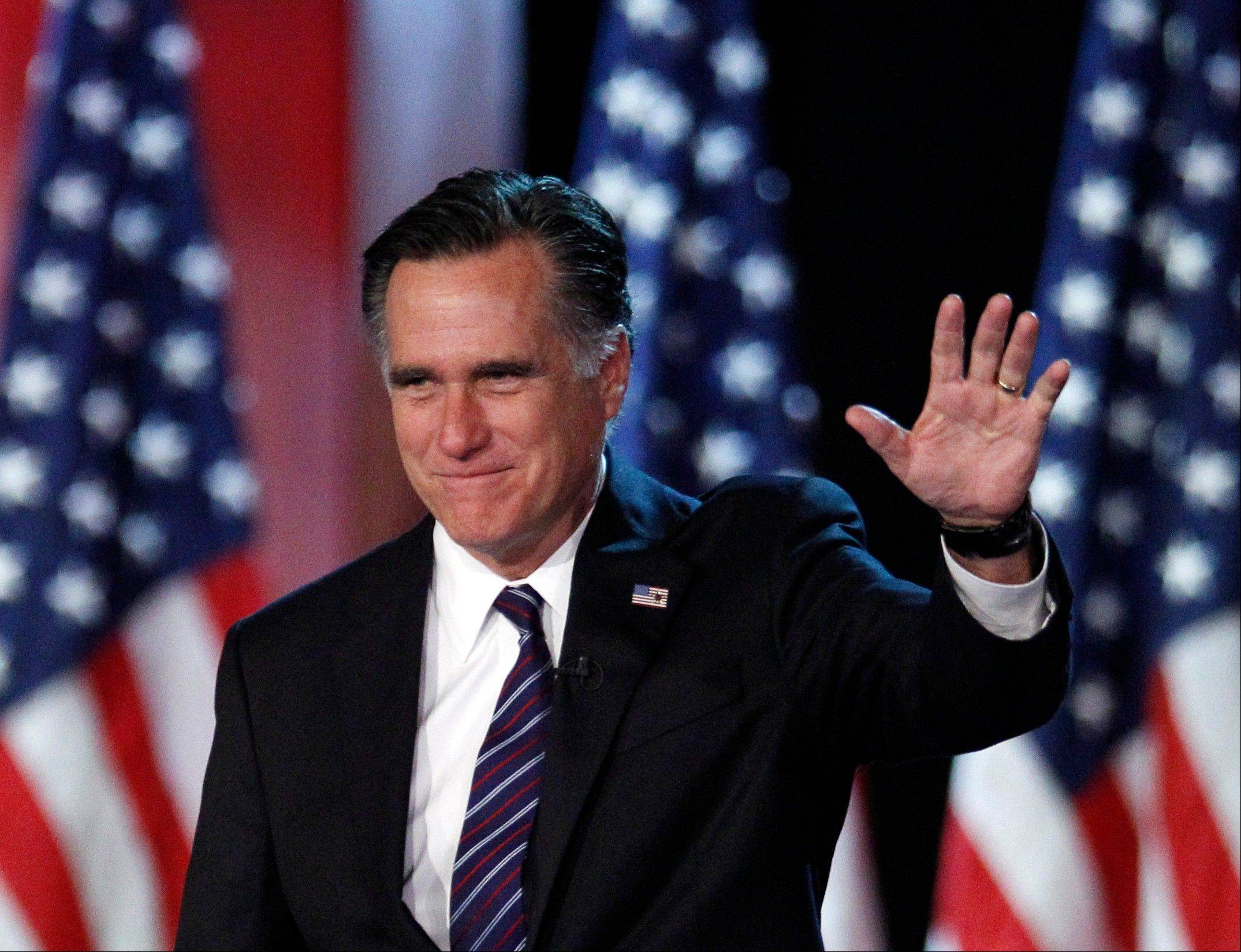 Associated Press Republican presidential candidate and former Massachusetts Gov. Mitt Romney.